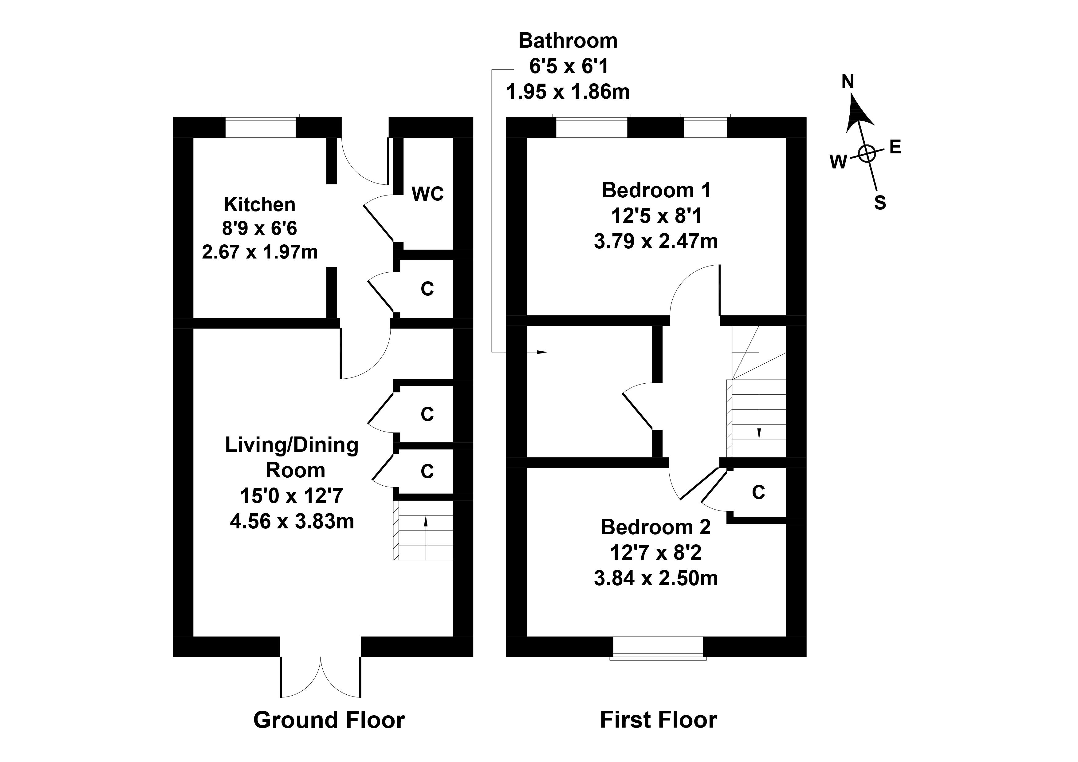Floorplan 1 of 32 East Kilngate Place, Gilmerton, Edinburgh, EH17 8UR