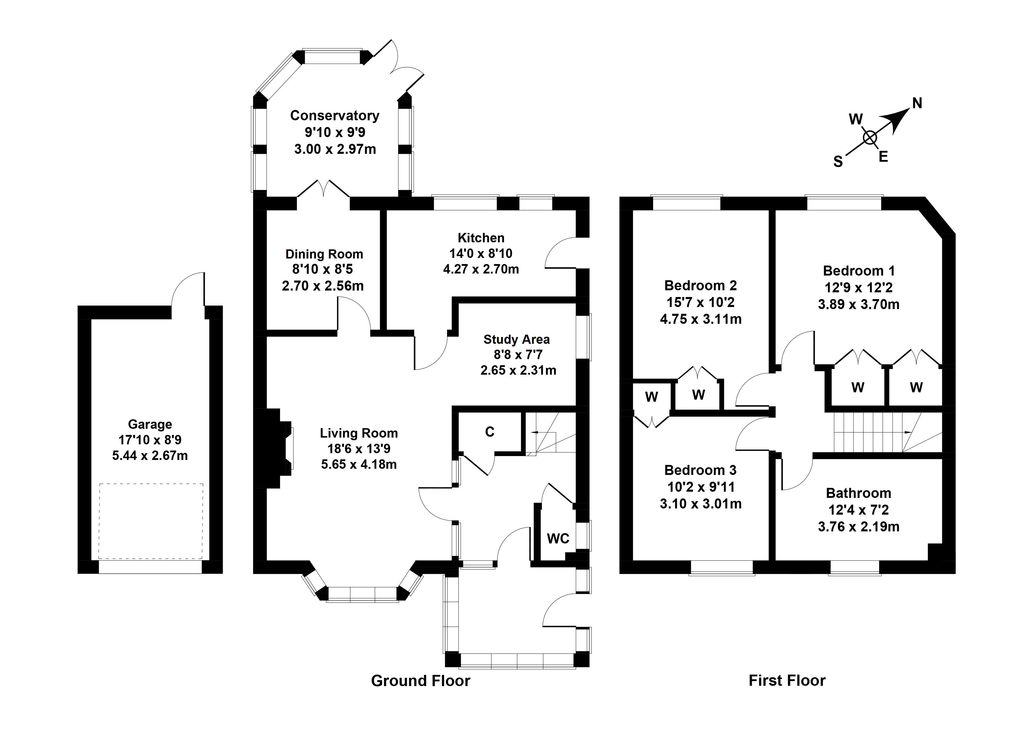 Floorplan 1 of 28 Winton Terrace, Fairmilehead, Edinburgh, EH10 7AP