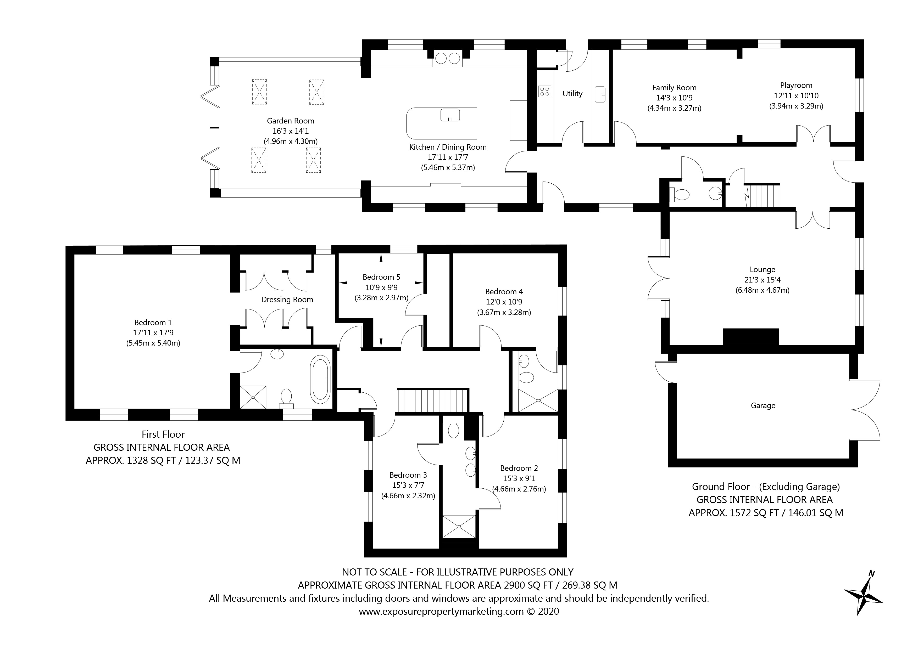 Stewart Lane, Stillingfleet, York property floorplan
