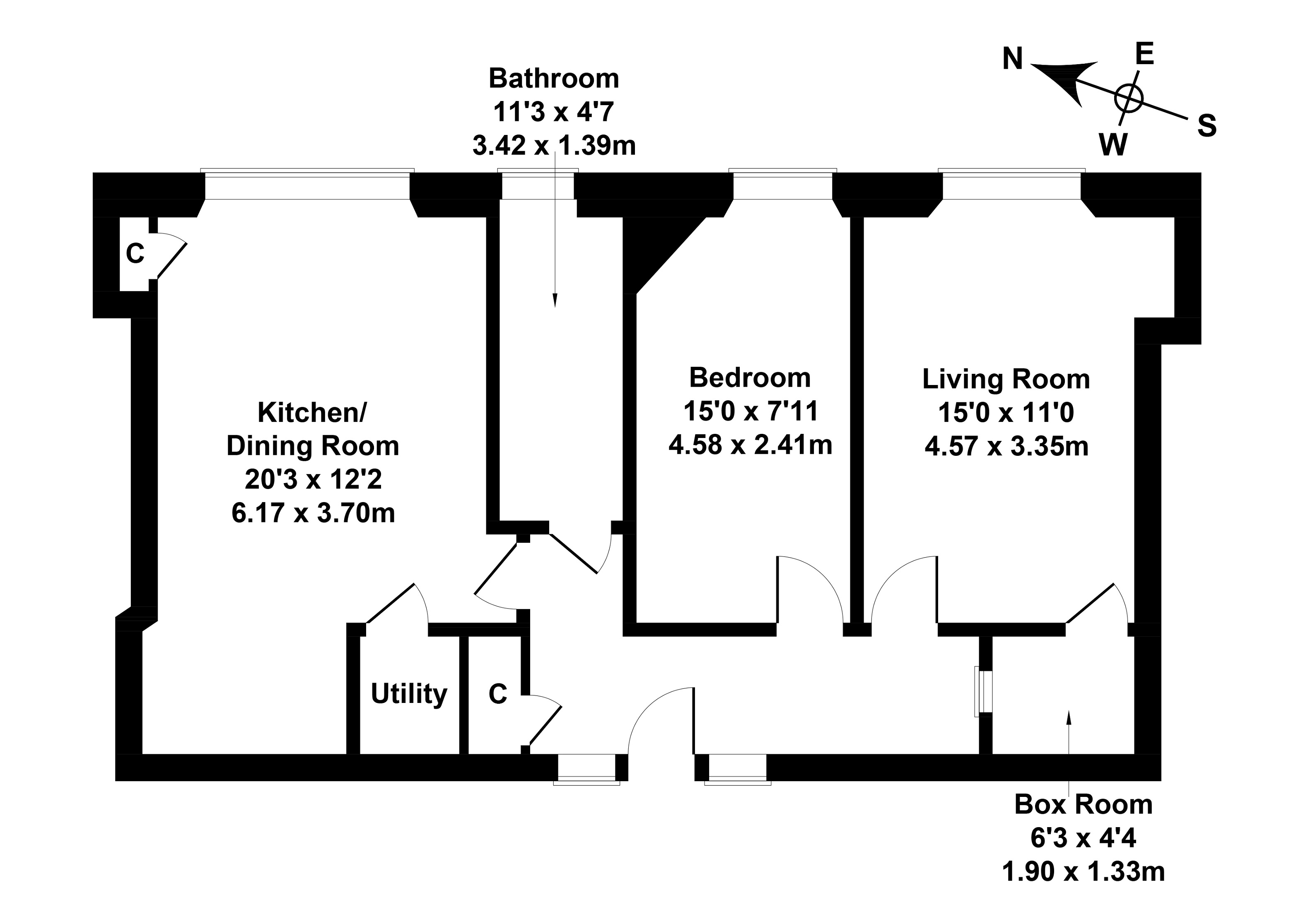 Floorplan 1 of 8/8, Comely Bank Street, Comely Bank, Edinburgh, EH4 1BD