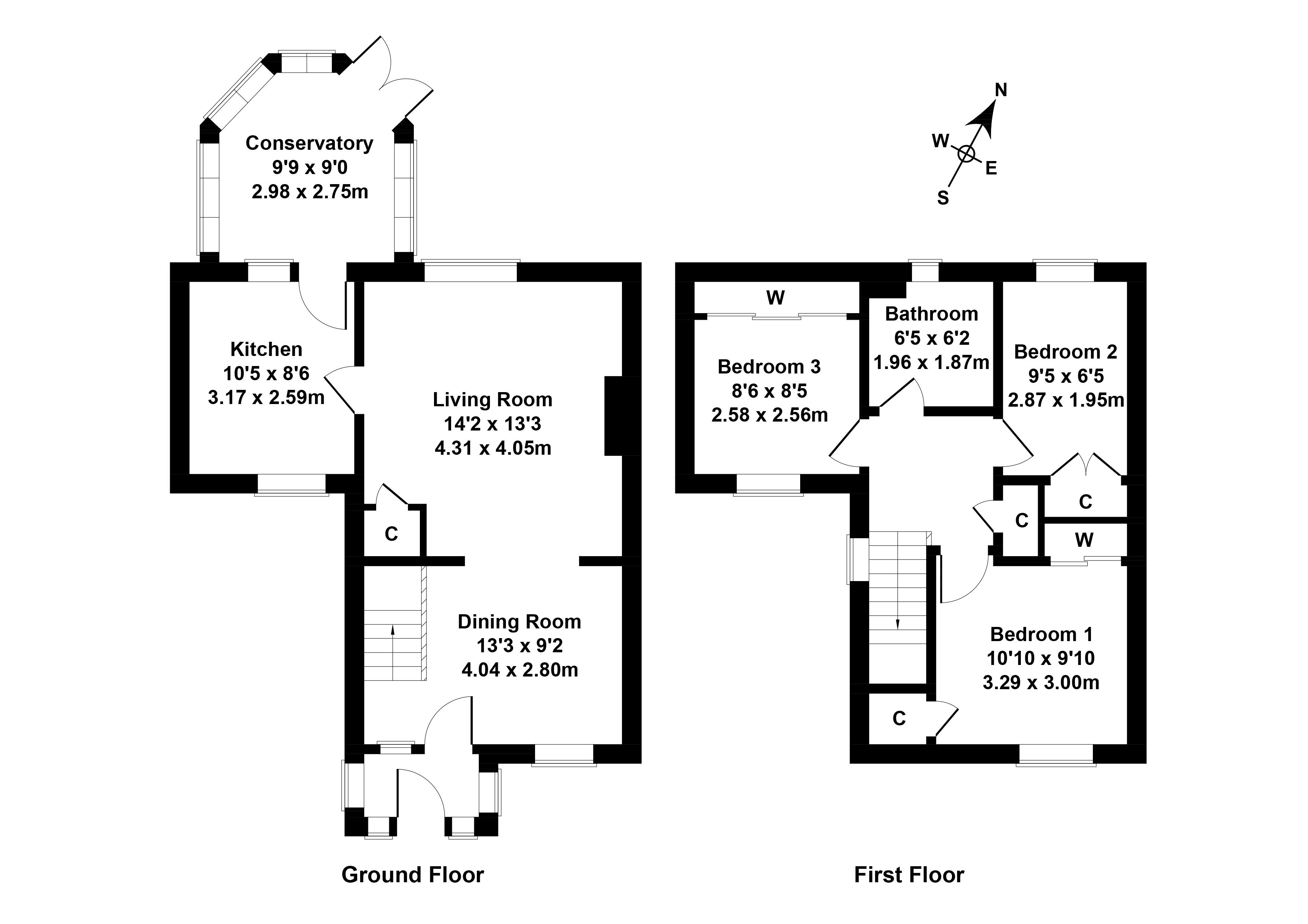 Floorplan 1 of 57 Cedar Drive, Port Seton, Prestonpans, East Lothian, EH32 0SN