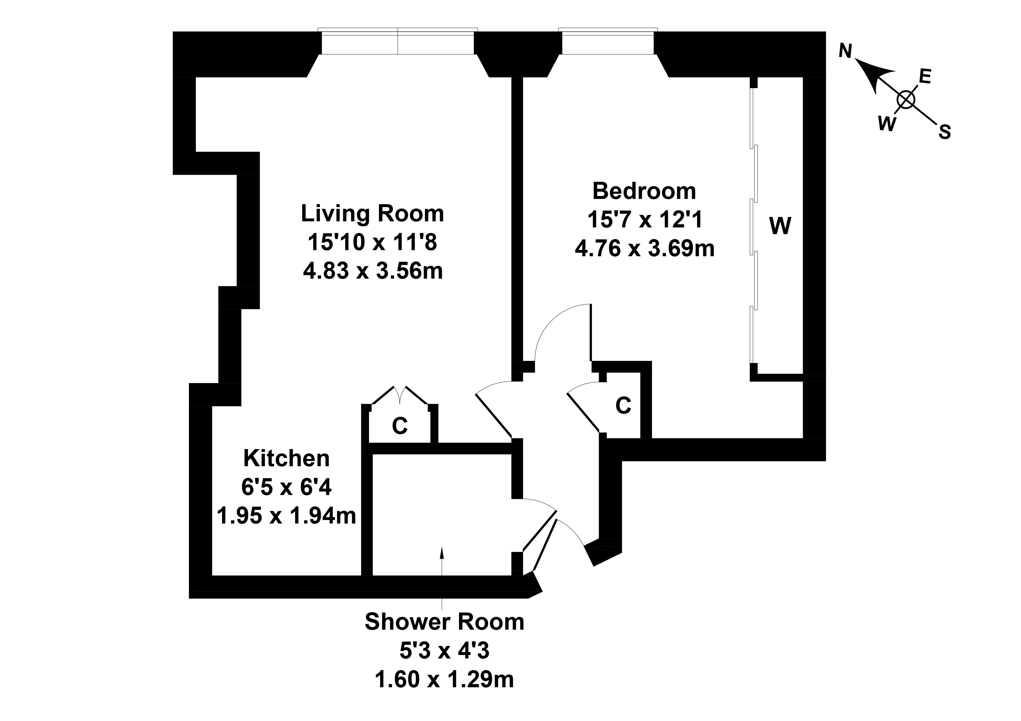 Floorplan 1 of 5/14, Newton Street, Gorgie, Edinburgh, EH11 1TQ
