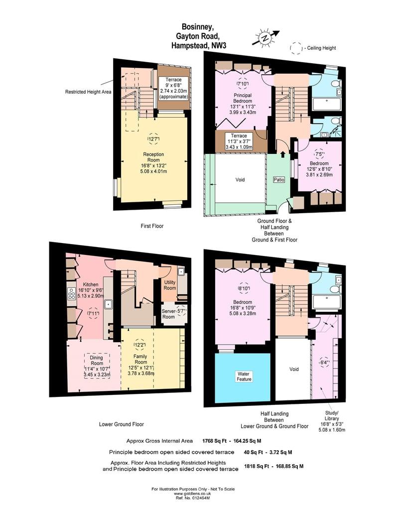 3 bedroom(s) house to sale in Gayton Road, Hampstead Village, London-Floorplan