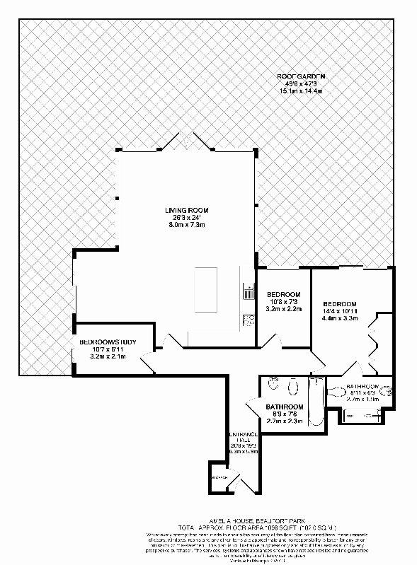 3 bedroom(s) apartment to sale in Amelia House, Boulevard Drive, Beaufort Park, Colindale-Floorplan