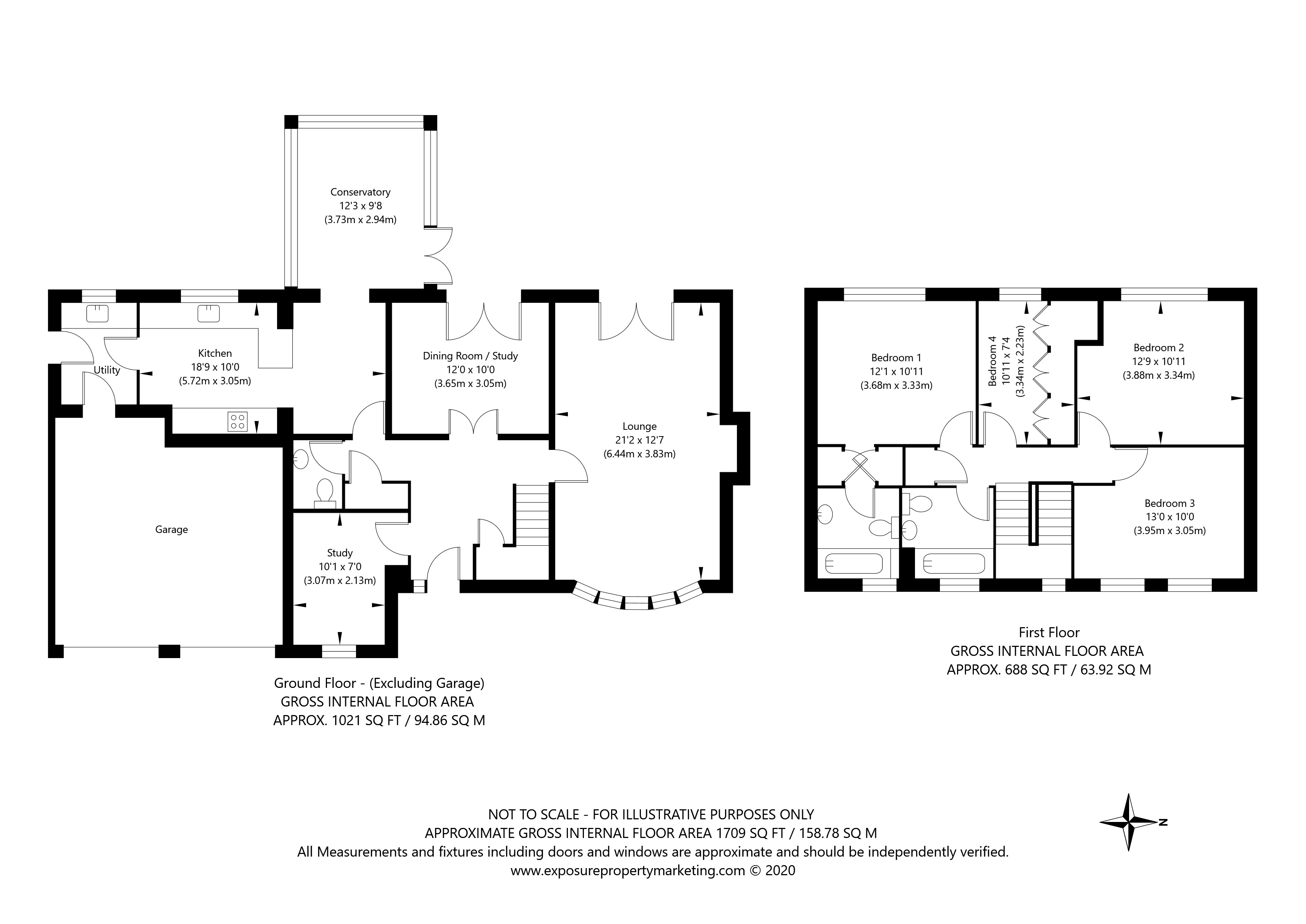 The Gowans, Sutton-on-the-Forest, York property floorplan