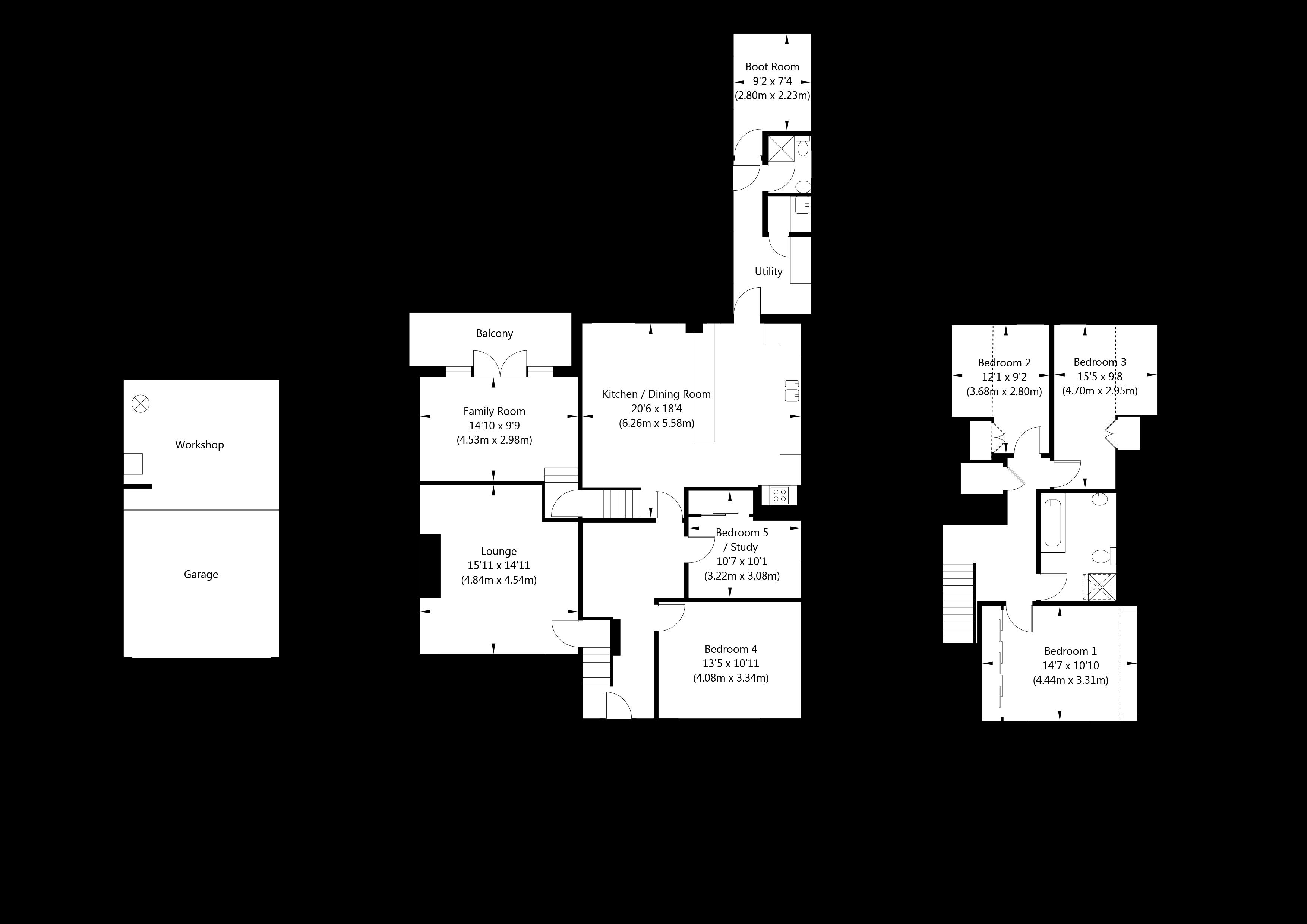 The Lane, Gate Helmsley, York property floorplan