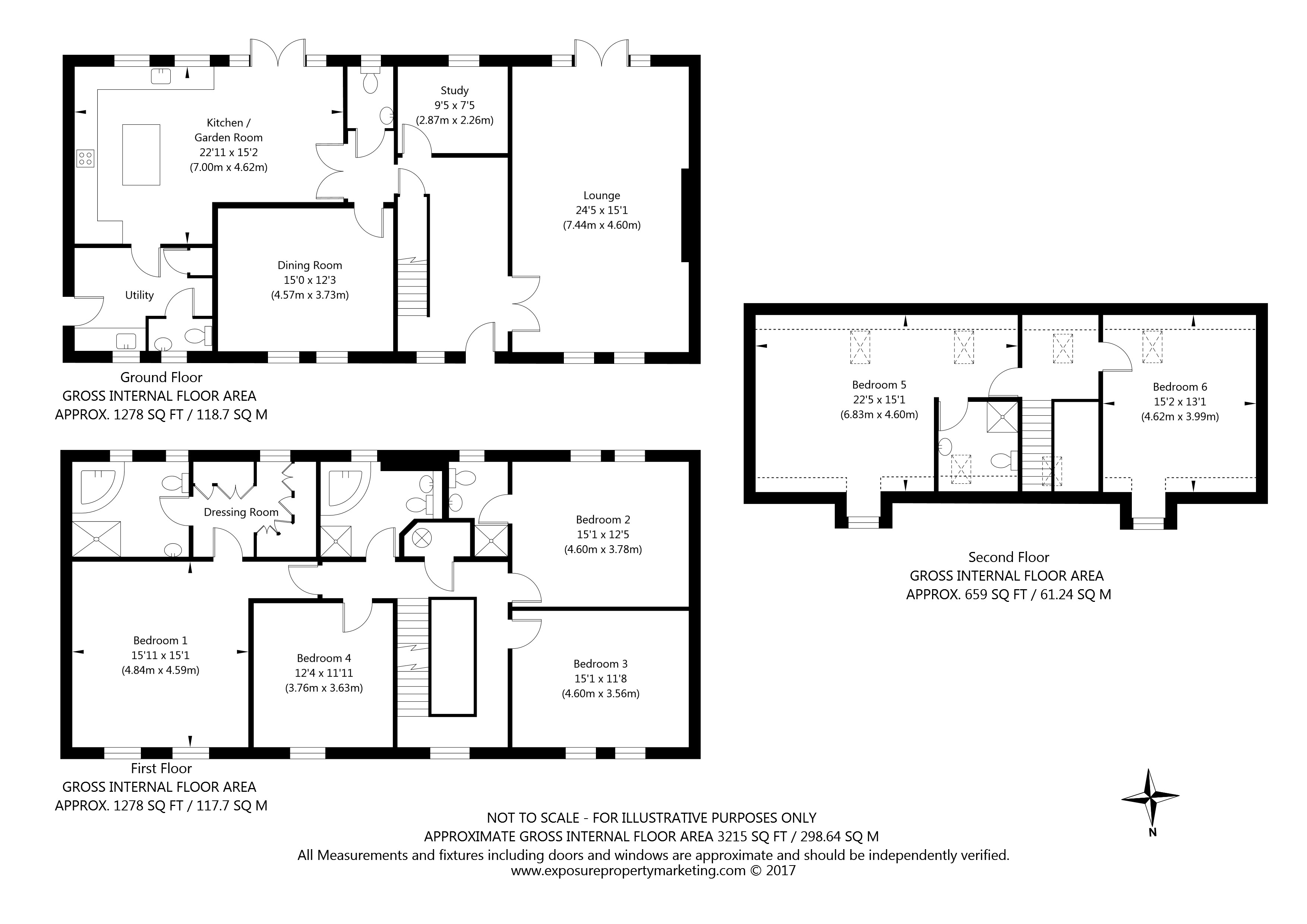 Beech Grove, North Duffield, Selby property floorplan
