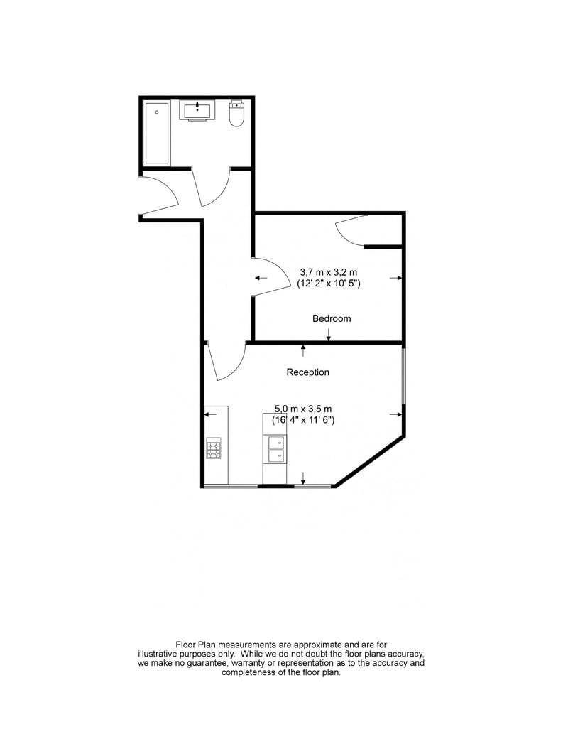 1 bedroom(s) apartment to sale in Earls Court Road, Earls Court, London-Floorplan