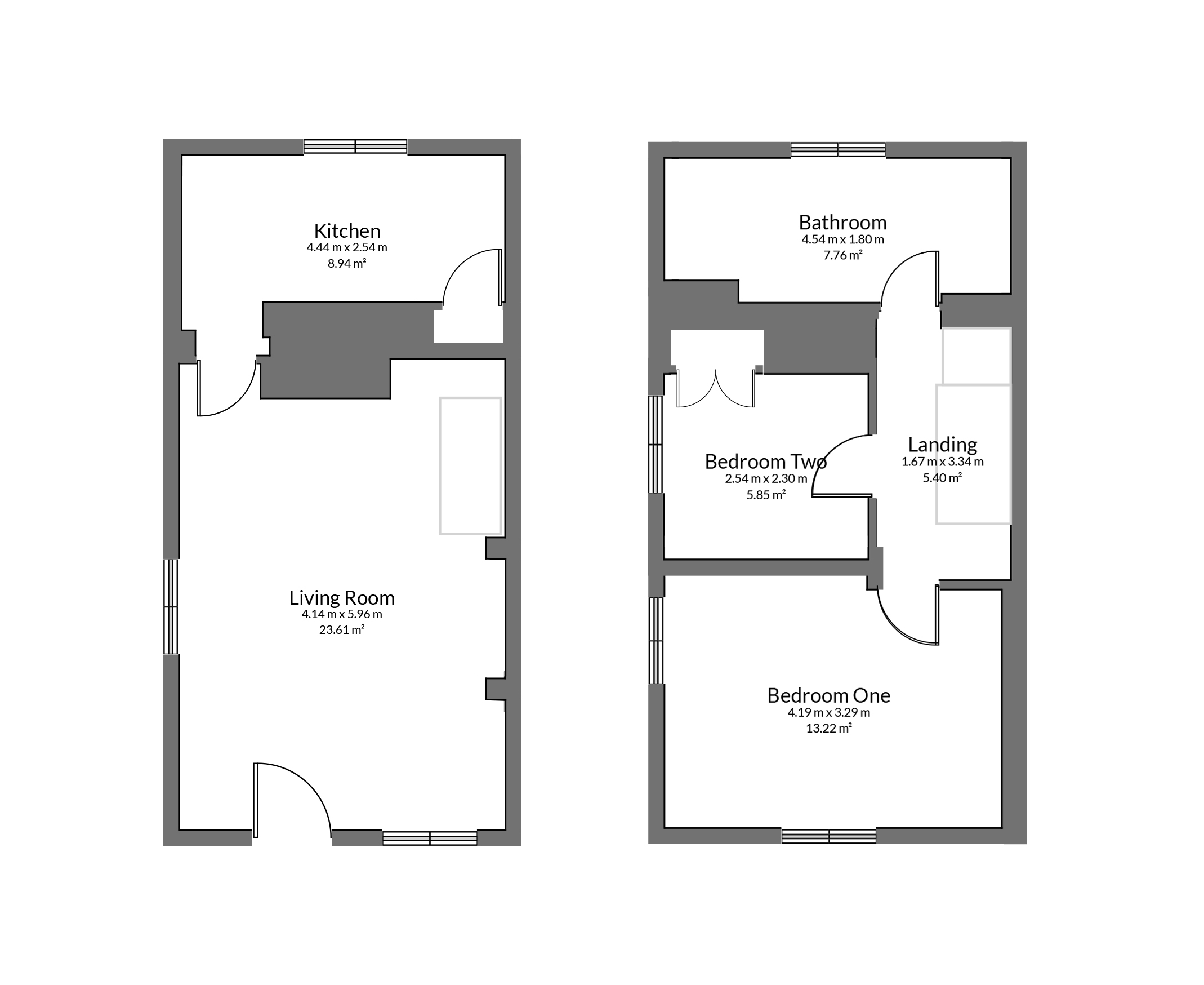 Floorplan for Old Rectory Road, Kingswood.