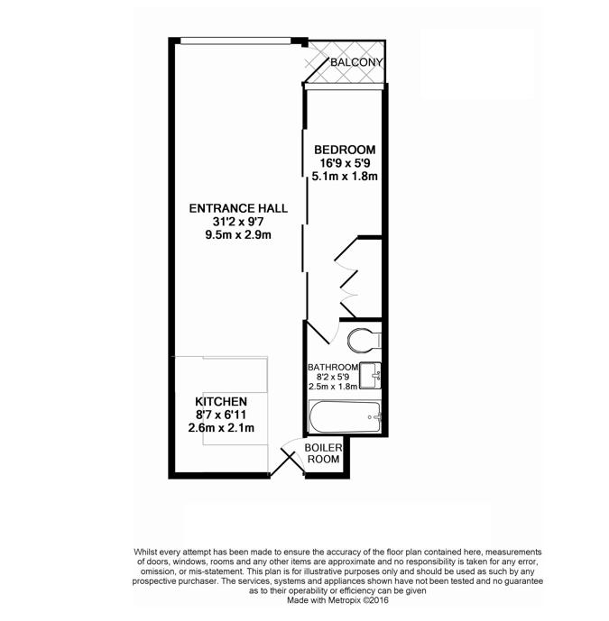 1 bedroom(s) apartment to sale in Townmead Road, Imperial Wharf, London-Floorplan