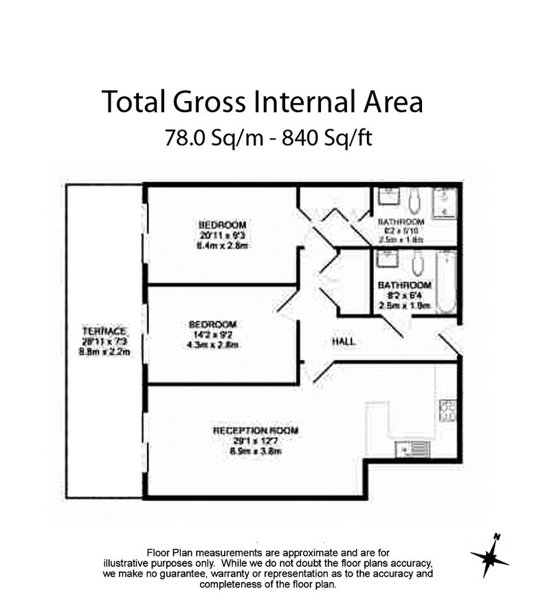 2 bedroom(s) apartment to sale in Doulton House, Chelsea Creek, Park Street, Imperial Wharf-Floorplan