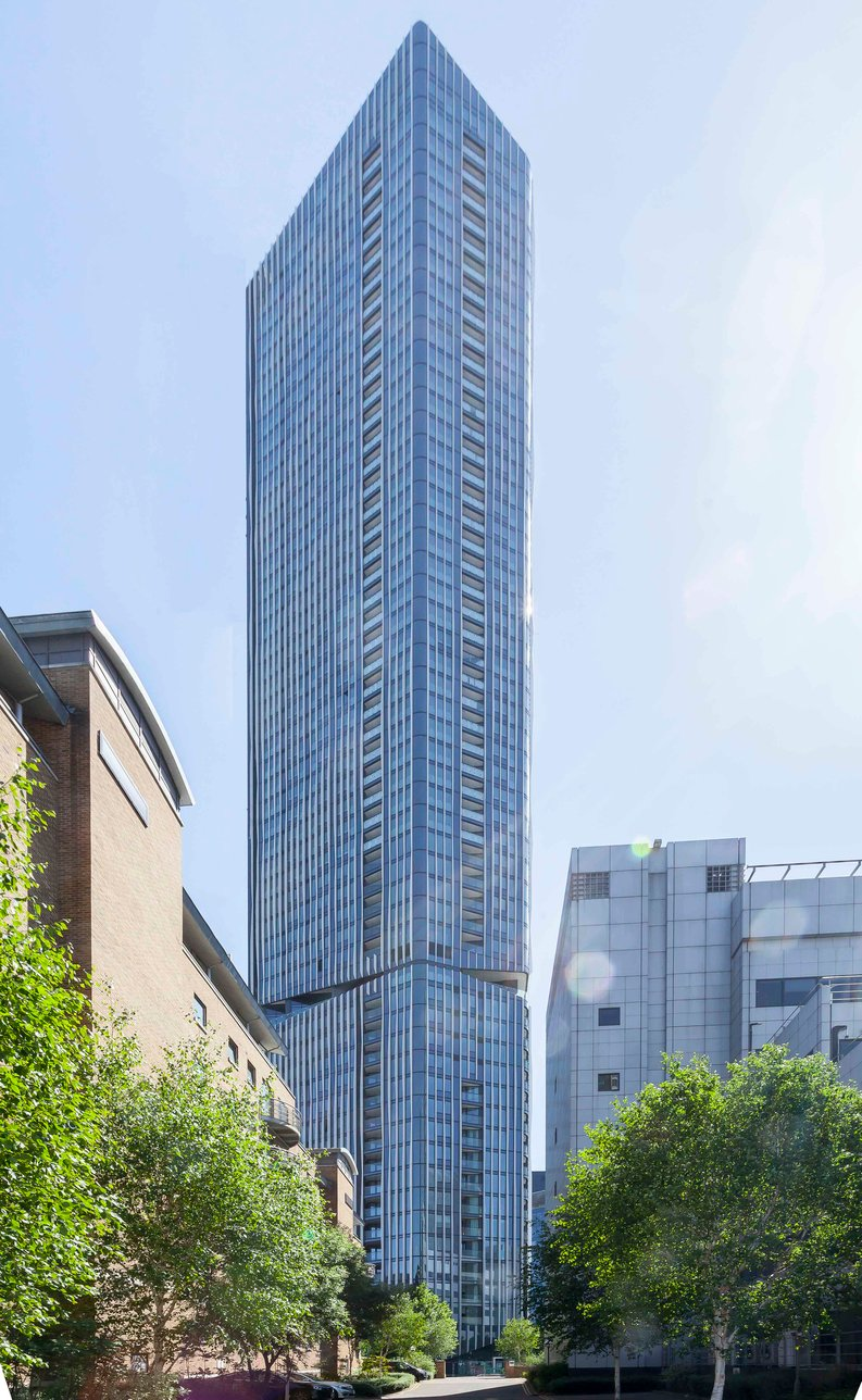 1 bedroom(s) apartment to sale in The Madison, Marsh Wall, Canary Wharf-image 2