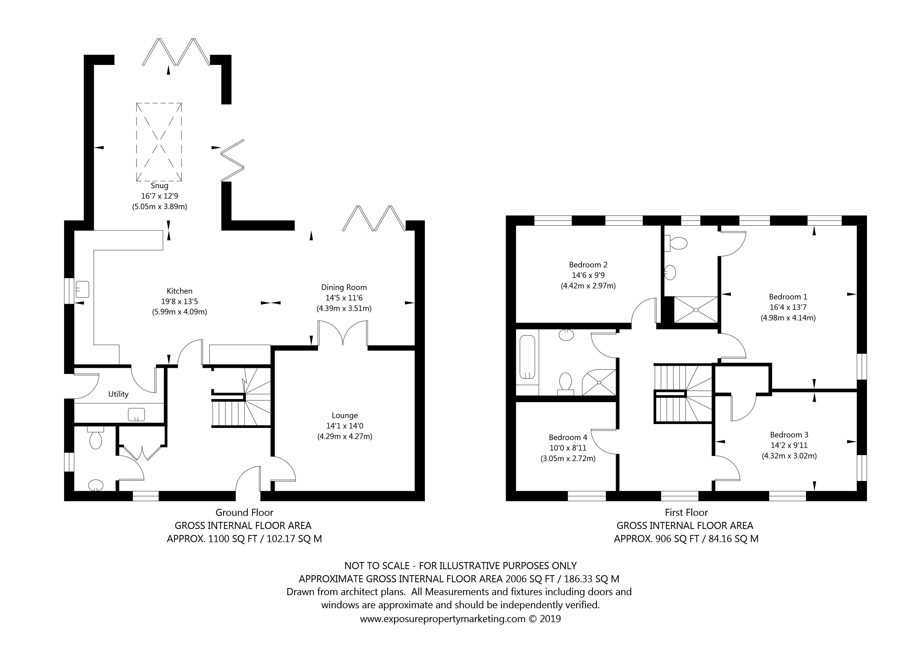 Southcote, Main Street, Melbourne, York property floorplan