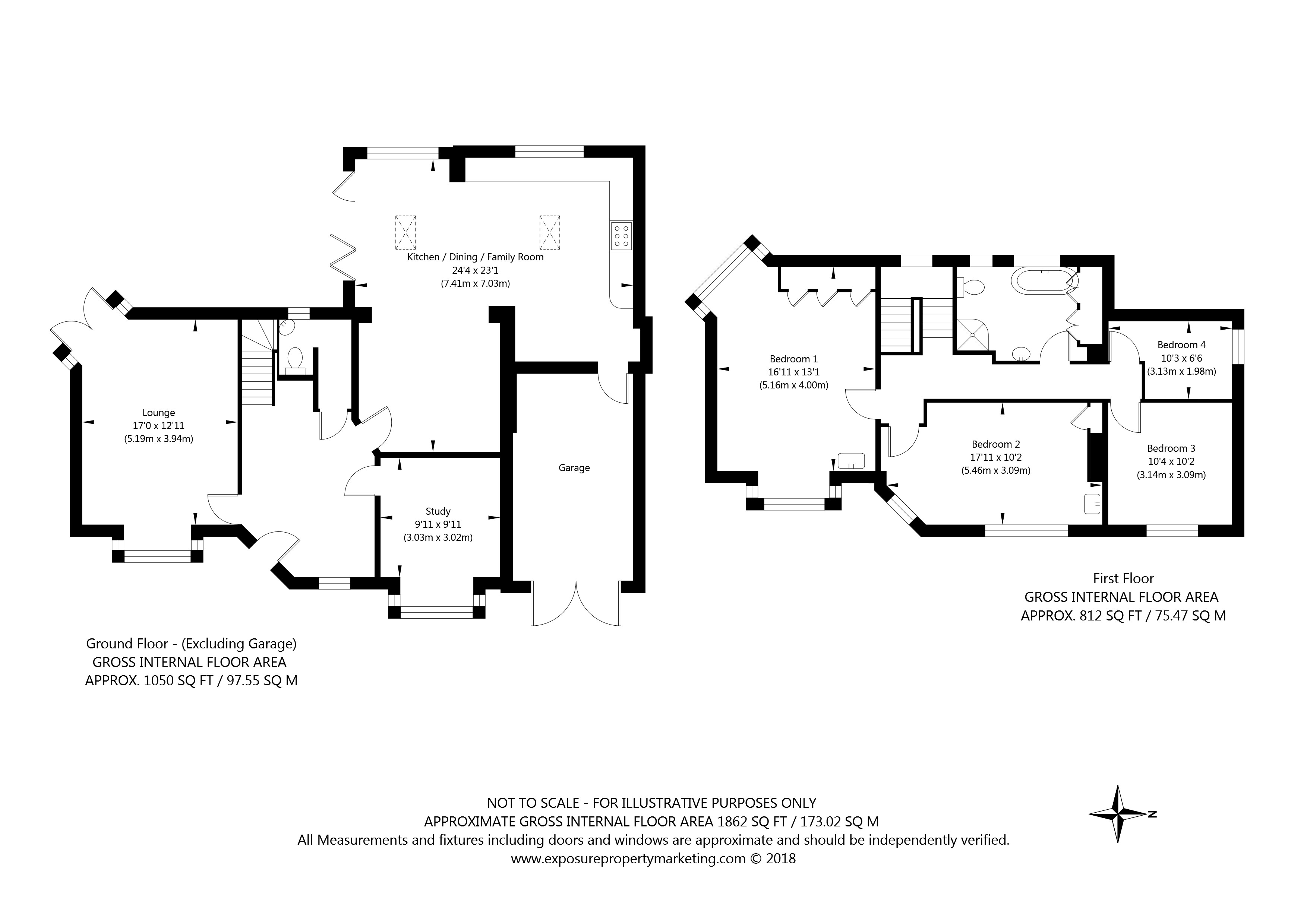 30 The Horseshoe, York property floorplan