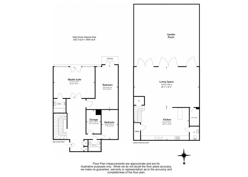 3 bedroom(s) apartment to sale in Montpelier Road, Ealing-Floorplan