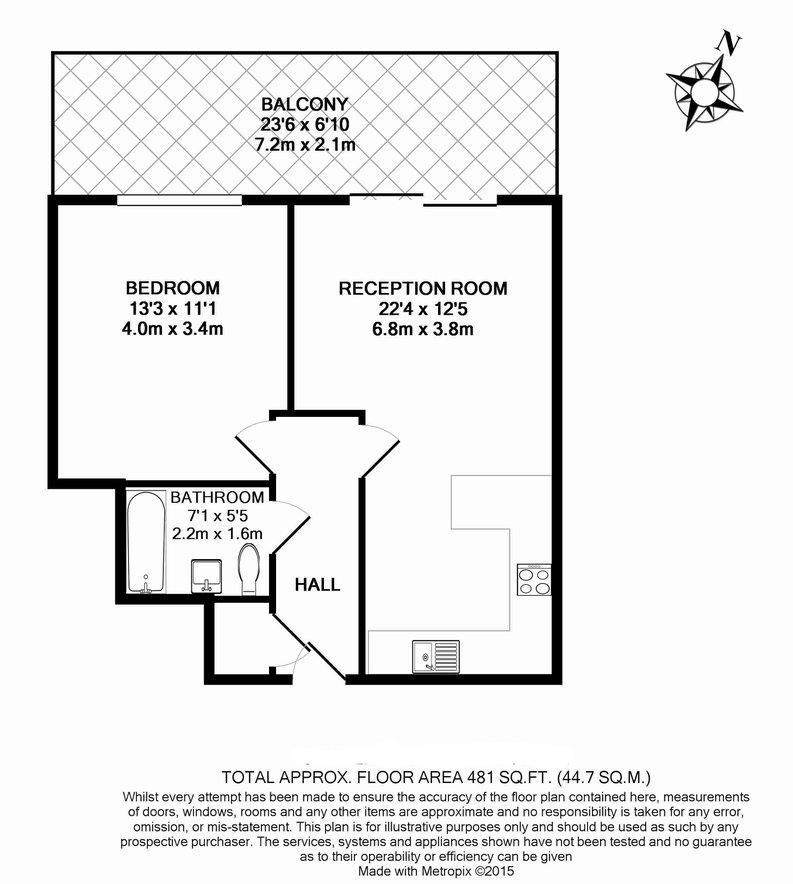 1 bedroom(s) apartment to sale in Arctic House, Heritage Avenue, Beaufort Park, Colindale-Floorplan