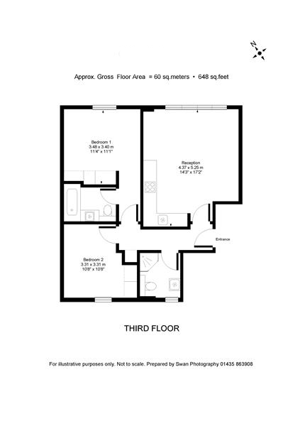 2 bedroom(s) apartment to sale in Chilworth Mews, Paddington-Floorplan
