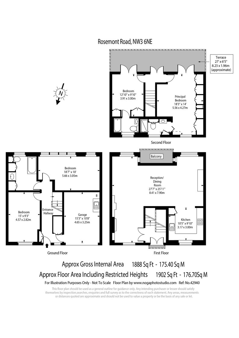 4 bedroom(s) house to sale in Rosemont Road, Hampstead, London-Floorplan