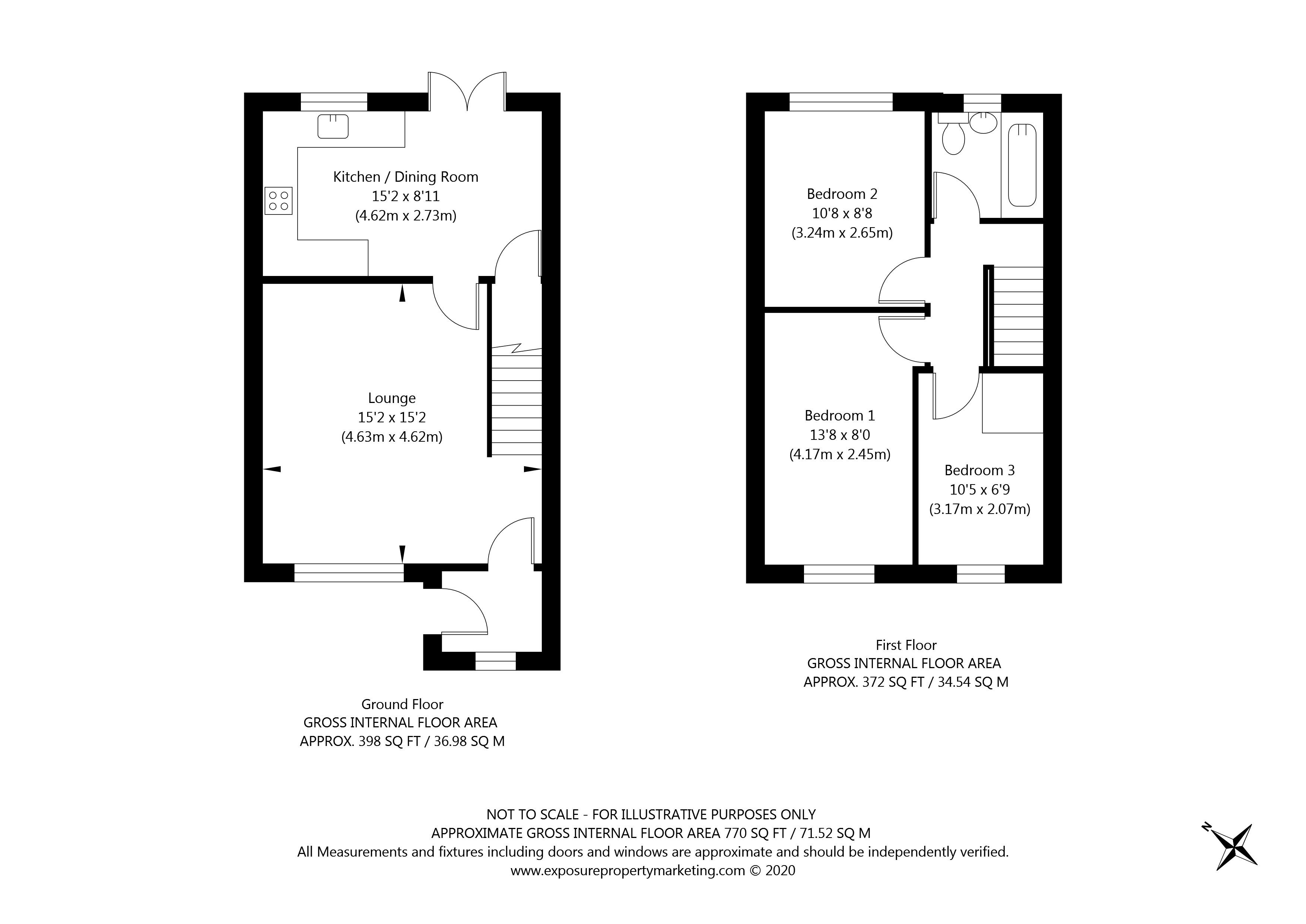 Beaverdyke, York property floorplan