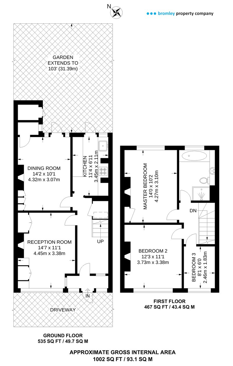 Terraced House floorplan