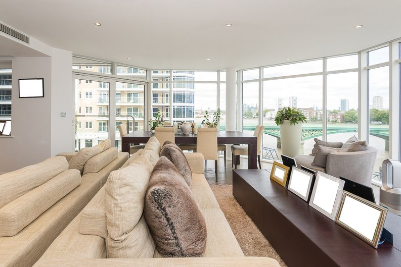 3 bedroom(s) apartment to sale in Riverside Tower , Imperial Wharf , London-image 1