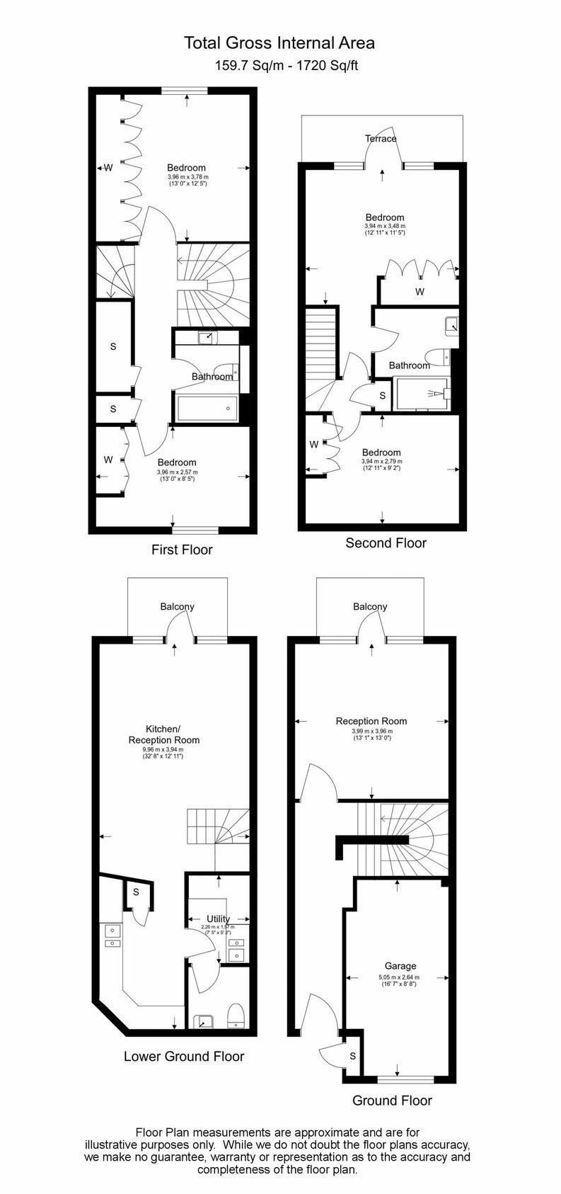 4 bedroom(s) to sale in Rosemont Road, Hampstead, London-Floorplan