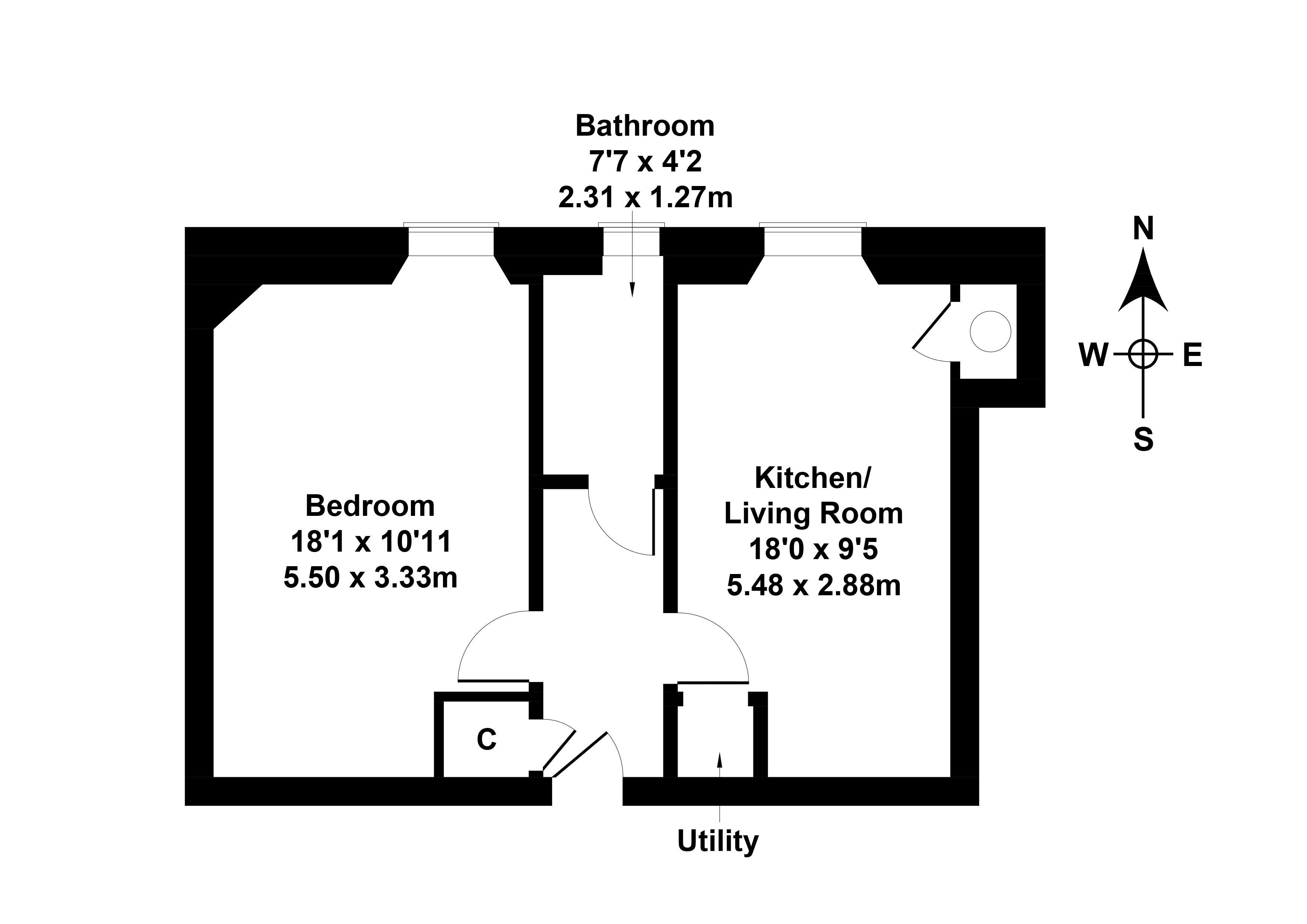 Floorplan 1 of 12/2, Meadowbank Terrace, Meadowbank, Edinburgh, EH8 7AR