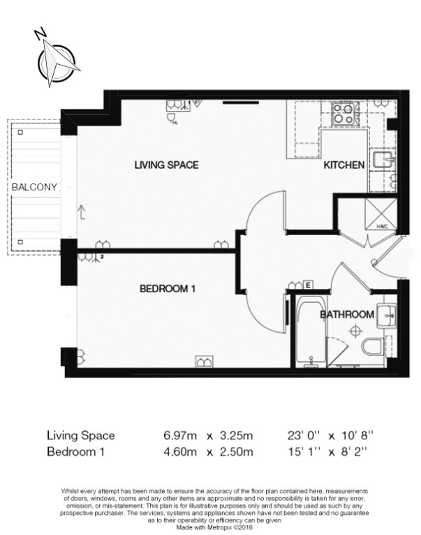 1 bedroom(s) apartment to sale in Curtiss House, 27 Heritage Avenue, Beaufort Park, London-Floorplan