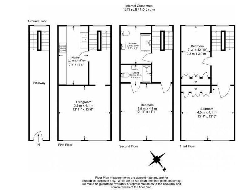 3 bedroom(s) house to sale in Endell Street, Covent Garden, London-Floorplan