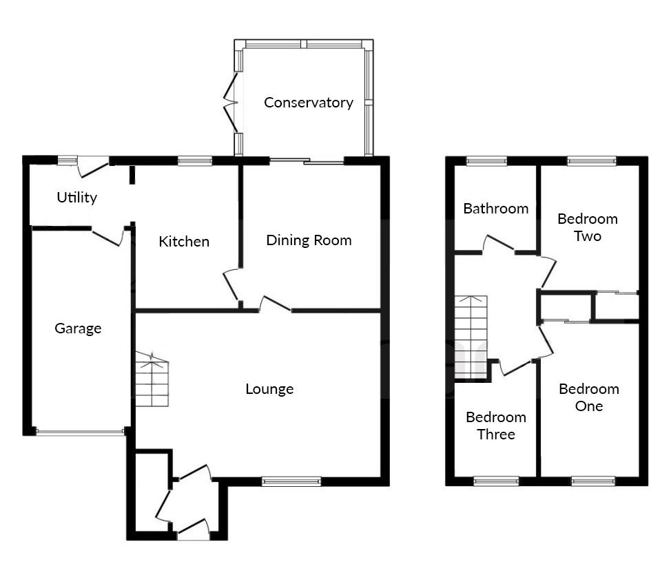 Floorplan for Long Croft, Brimsham Park.