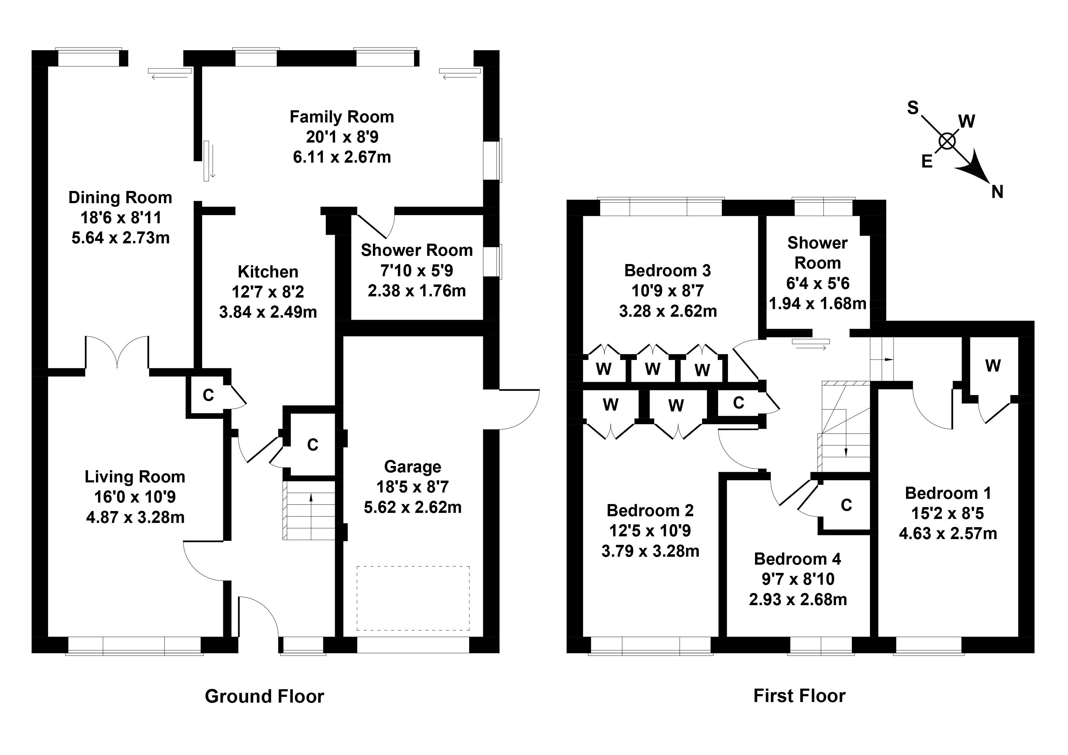 Floorplan 1 of 8 Buckstone Place, Buckstone, Edinburgh, EH10 6UB