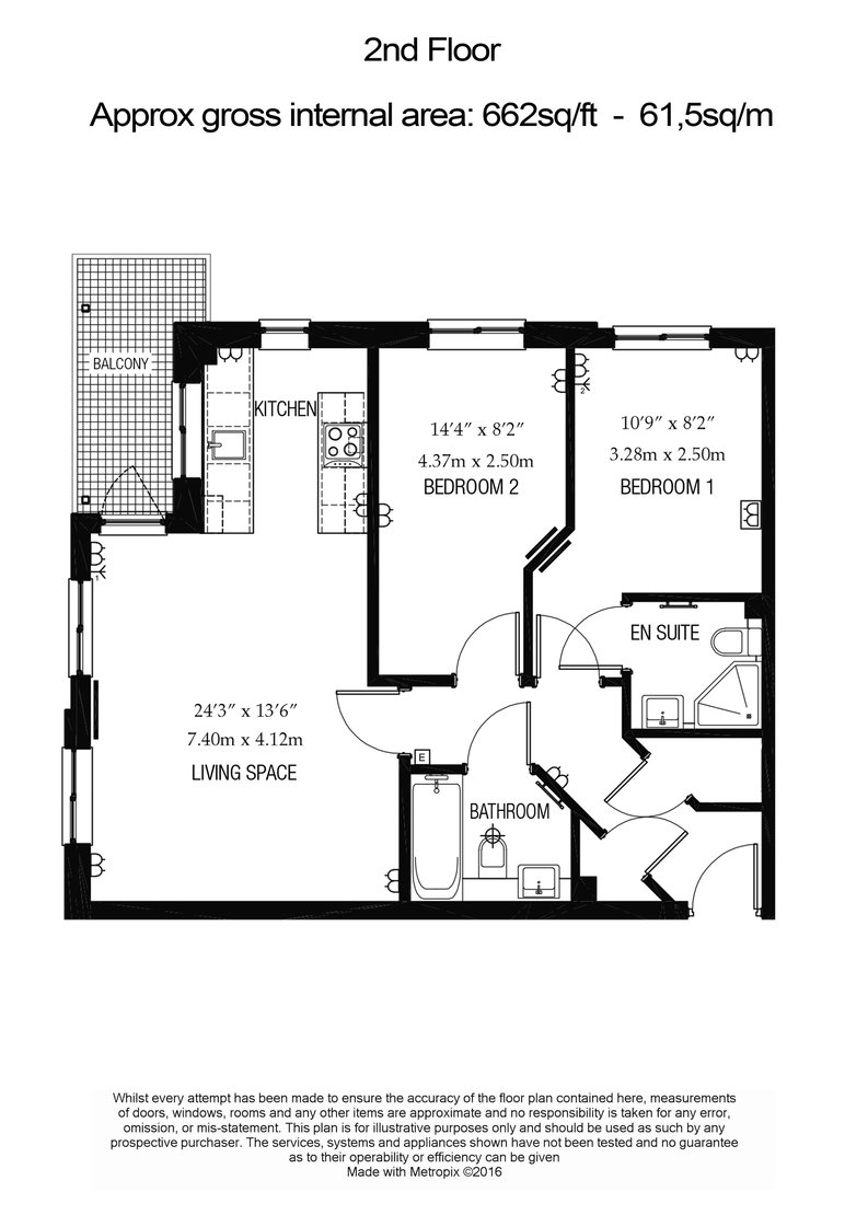 2 bedroom(s) apartment to sale in Brigadier House, Heritage Avenue, Beaufort Park, Colindale-Floorplan