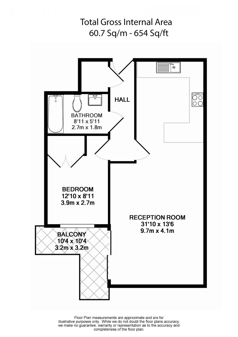 1 bedroom(s) apartment to sale in Octavia House, Townmead Road, Fulham-Floorplan