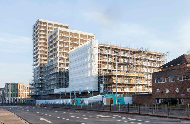 2 bedroom(s) apartment to sale in Western Circus, Western Avenue, Acton, London-image 1
