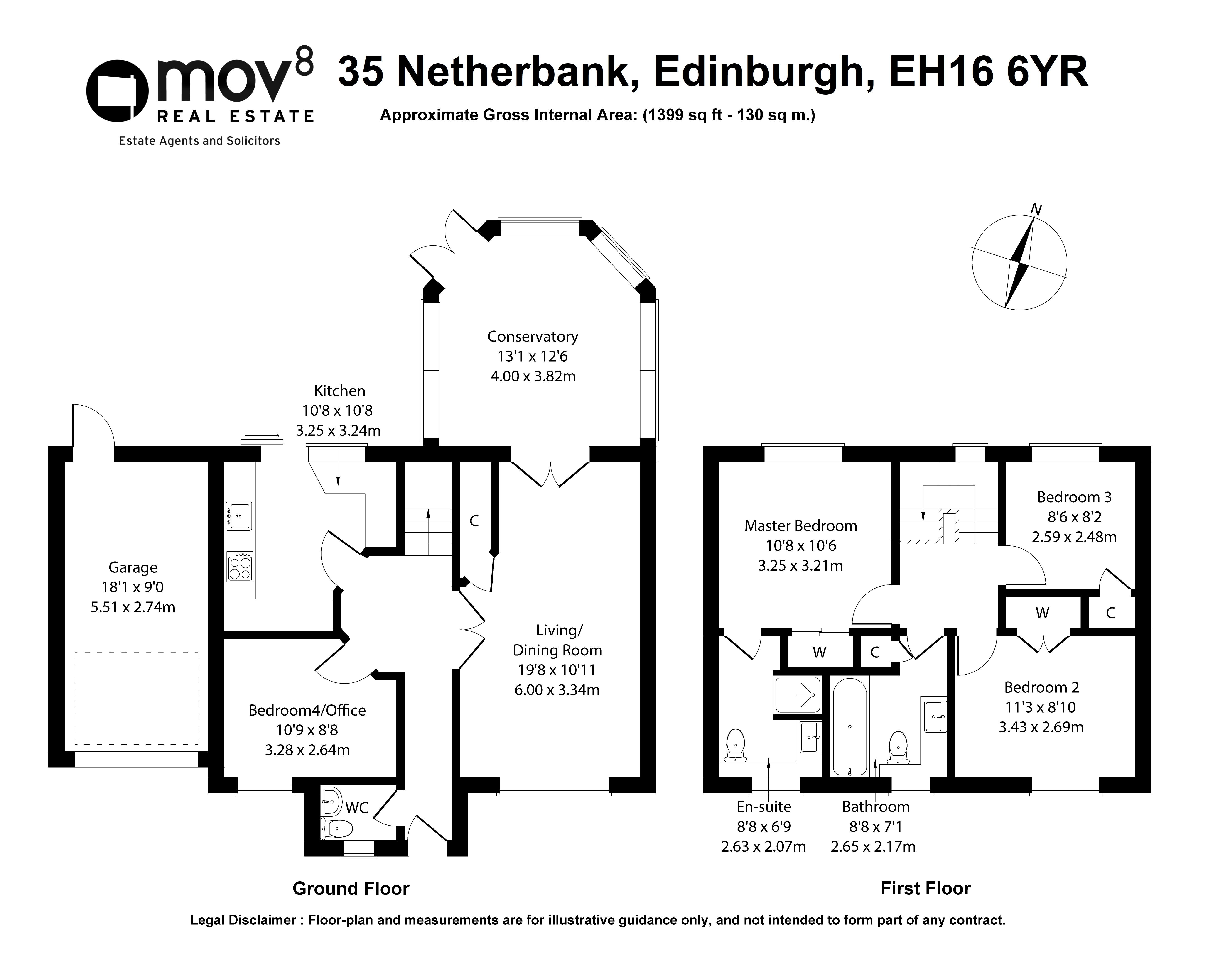 Floorplan 1 of 35 Netherbank, Alnwickhill, Edinburgh, EH16 6YR