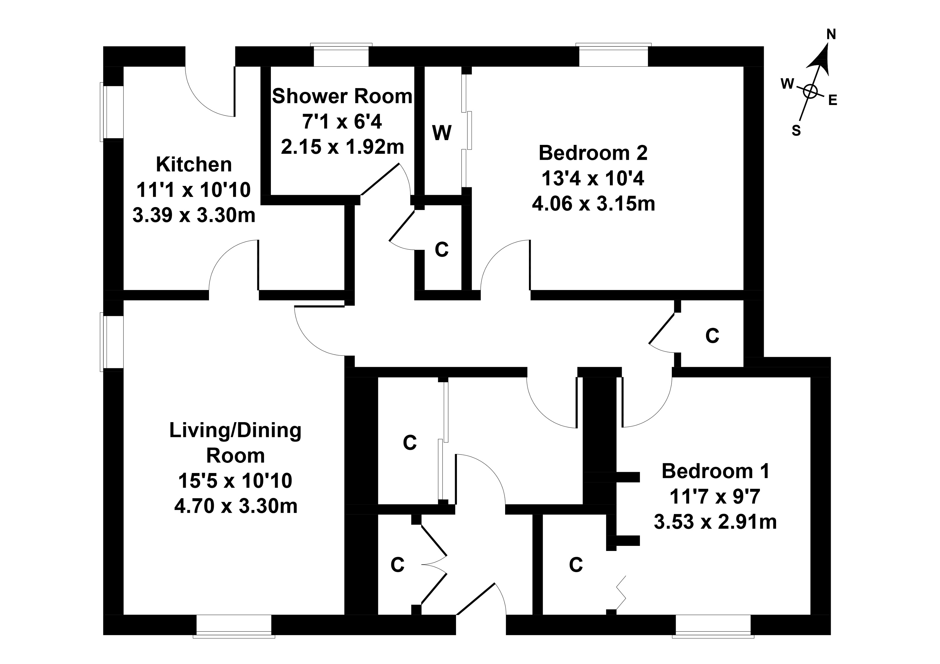 Floorplan 1 of 6 Broomhouse Park, Broomhouse, Edinburgh, EH11 3RU