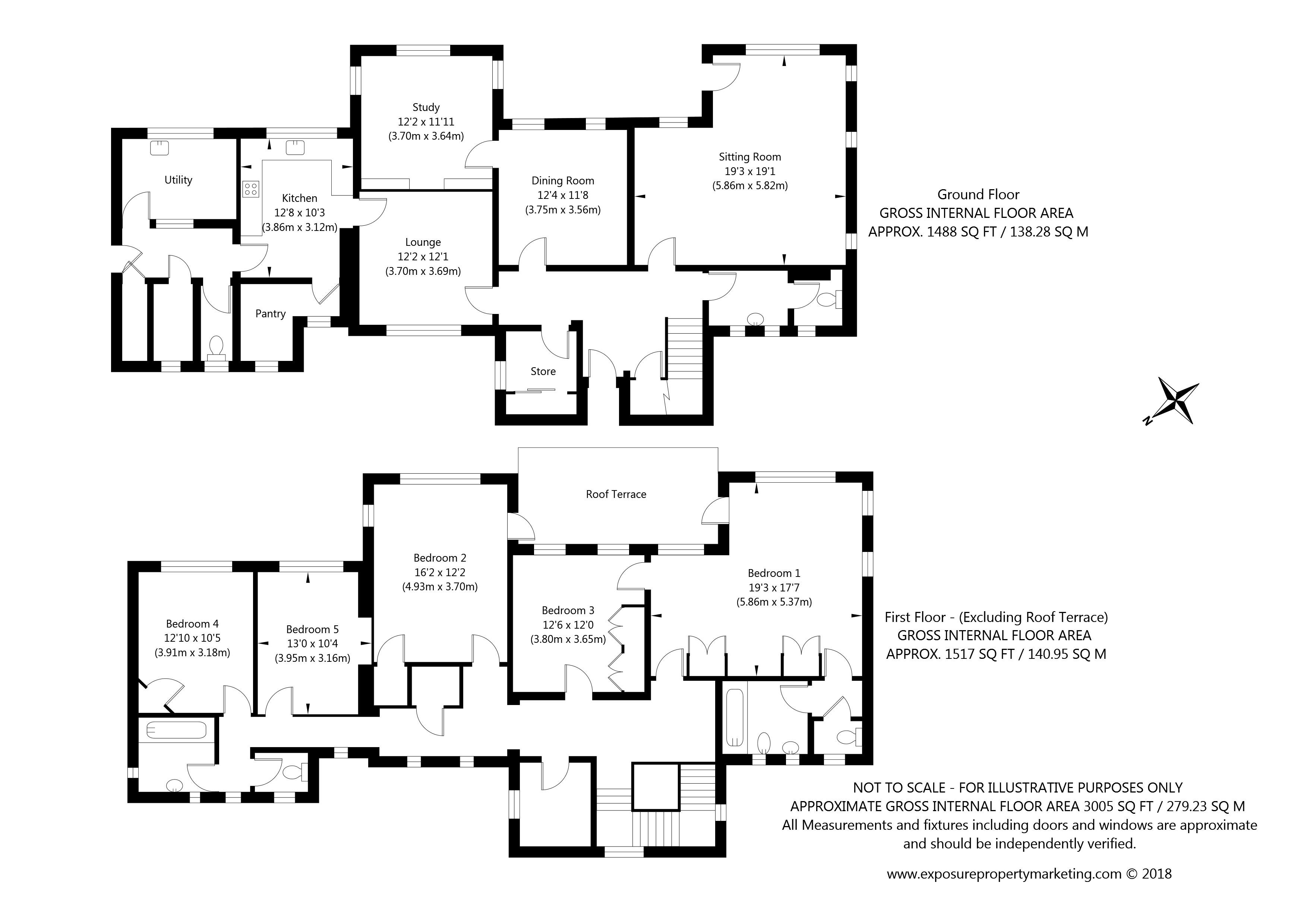 Askham Lane, York property floorplan