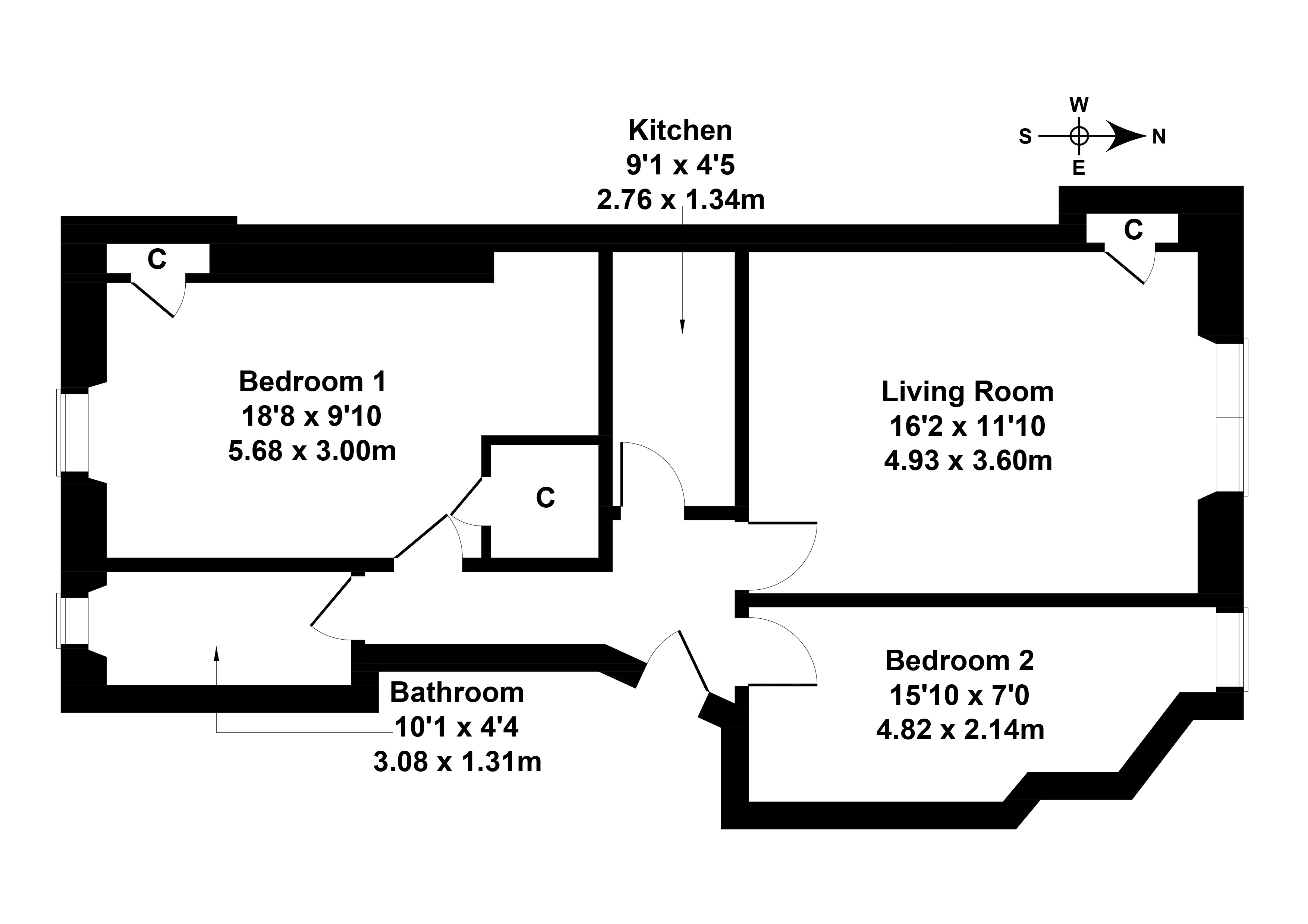 Floorplan 1 of 221/2, Gorgie Road, Gorgie, Edinburgh, EH11 1TU
