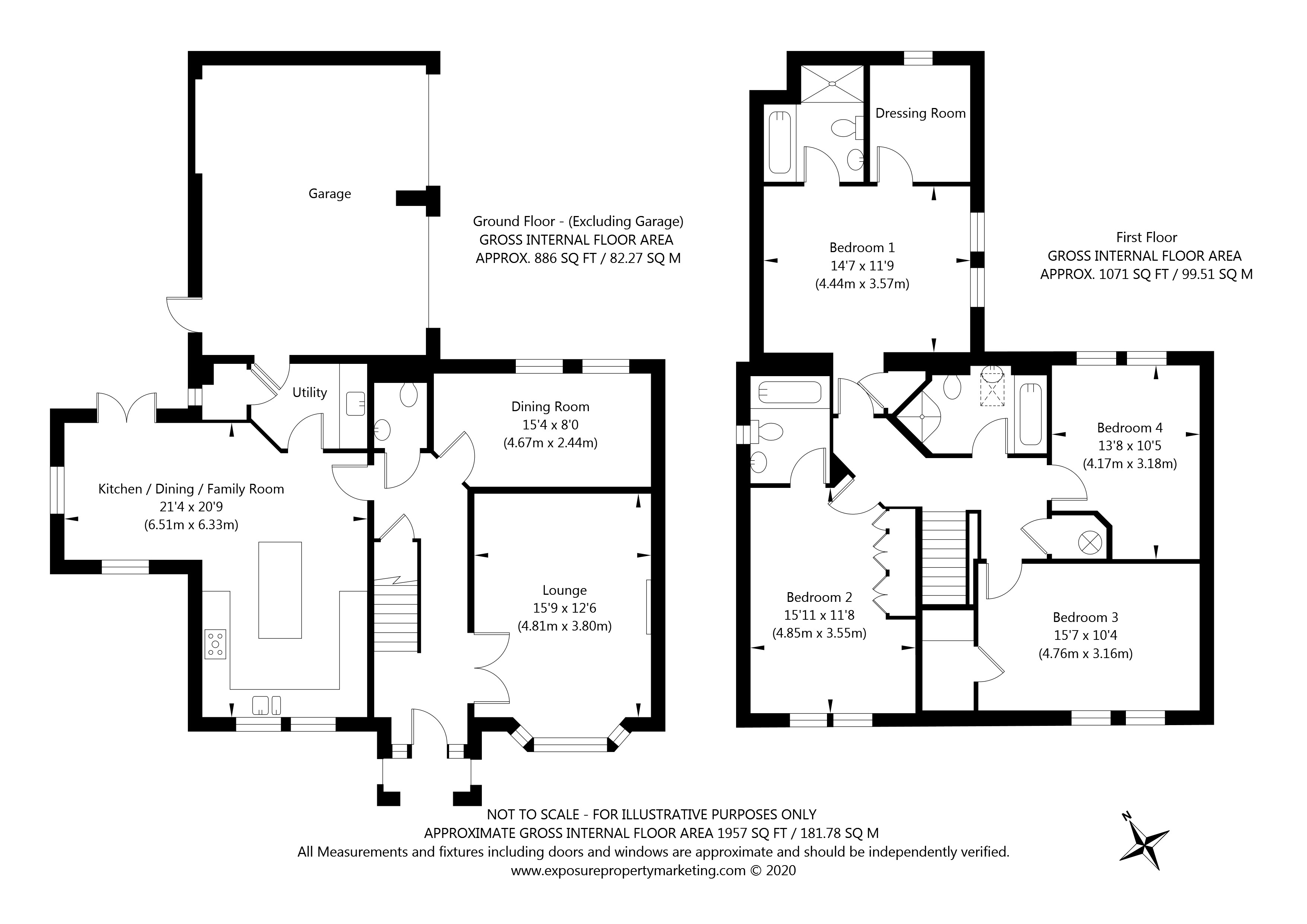 Ainsty Garth, Appleton Roebuck, York property floorplan