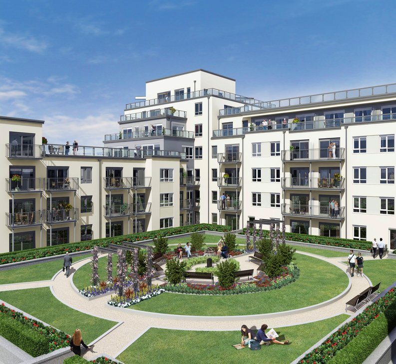 1 bedroom(s) apartment to sale in Fairbank House, Beaufort Park, 13 Beaufort Square, London-image 2
