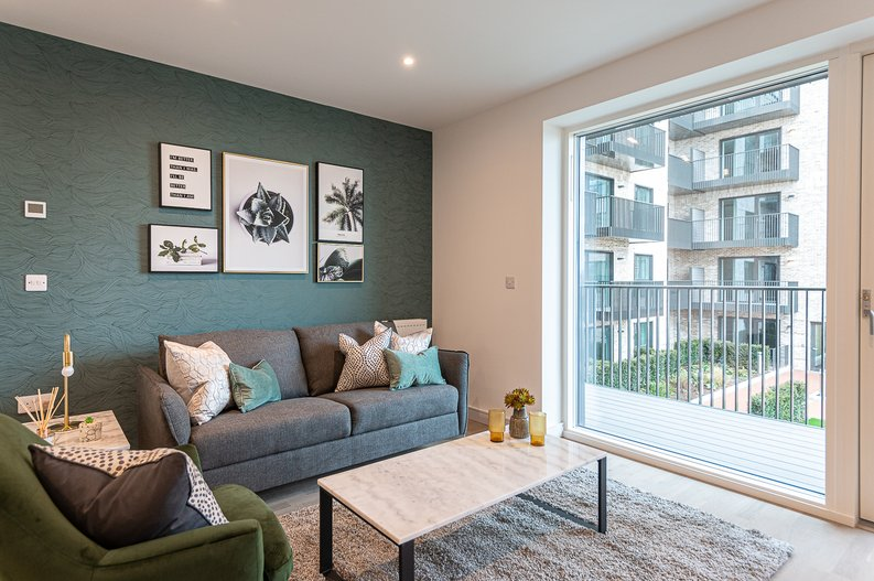 1 bedroom(s) apartment to sale in Arber House, 2 Green Leaf Walk, The Green Quarter, Southall, London-image 1