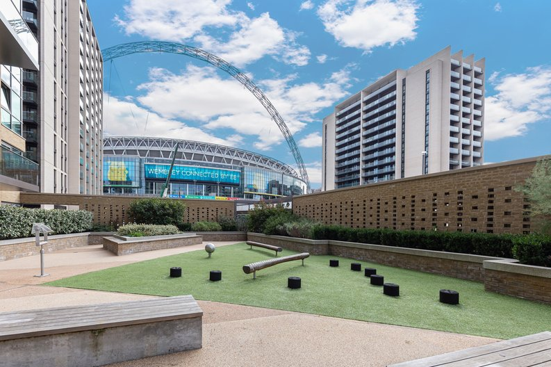1 bedroom(s) apartment to sale in Marathon House, Olympic Way, Greater London, Wembley-image 1