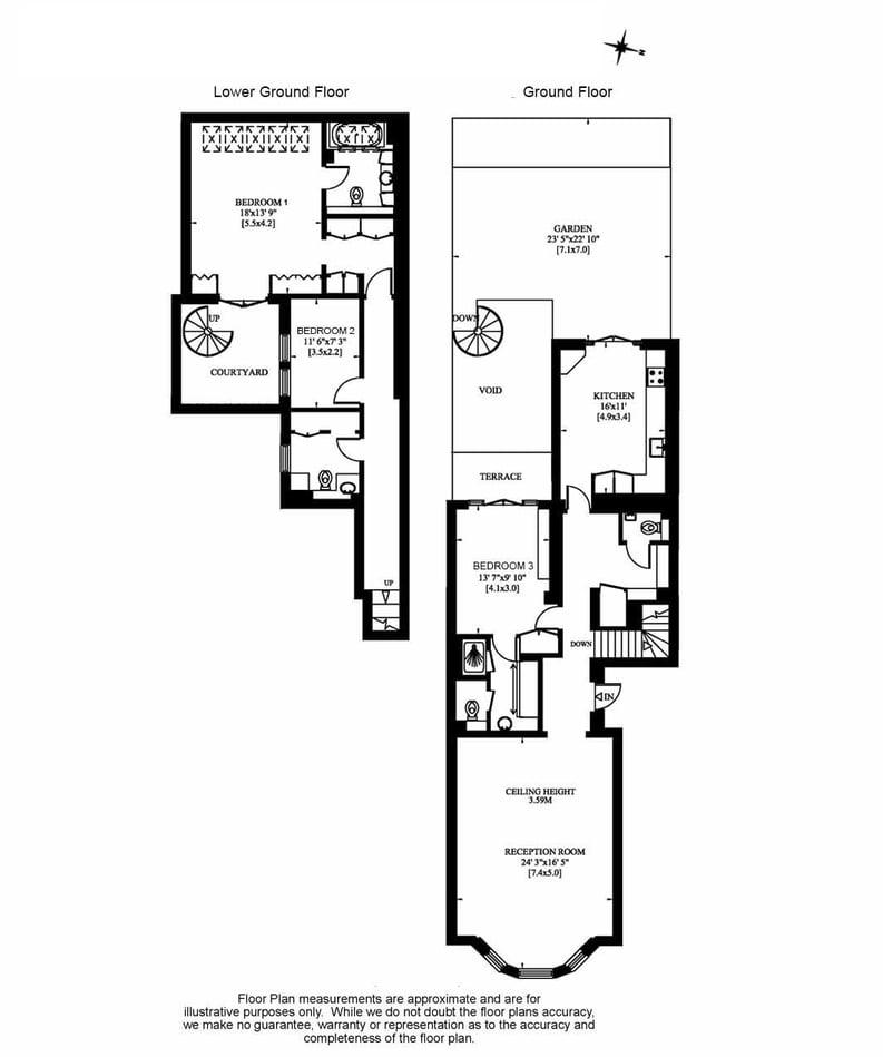 3 bedroom(s) house to sale in Cranley Gardens, South Kensington, London-Floorplan
