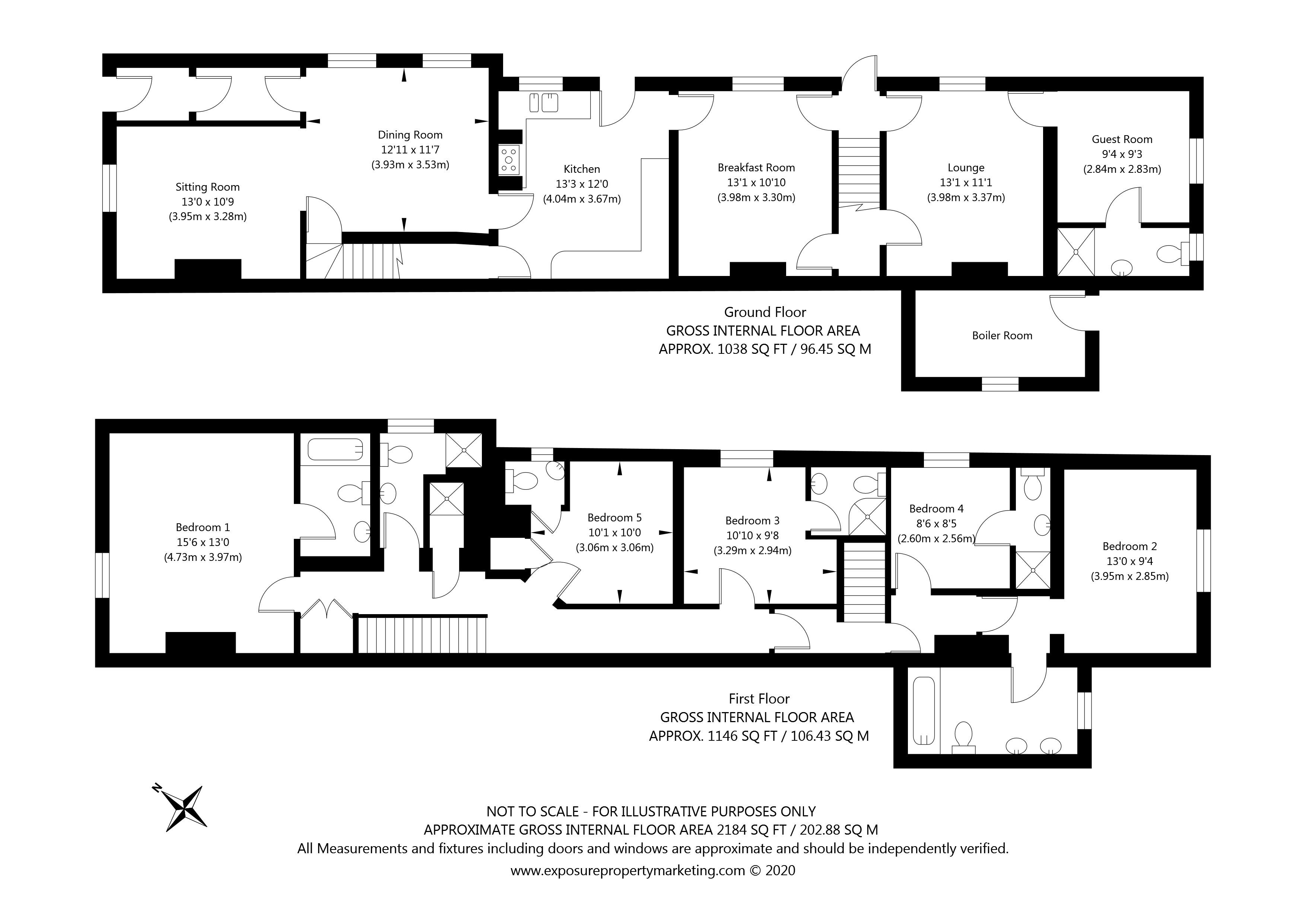 Monkgate, York property floorplan