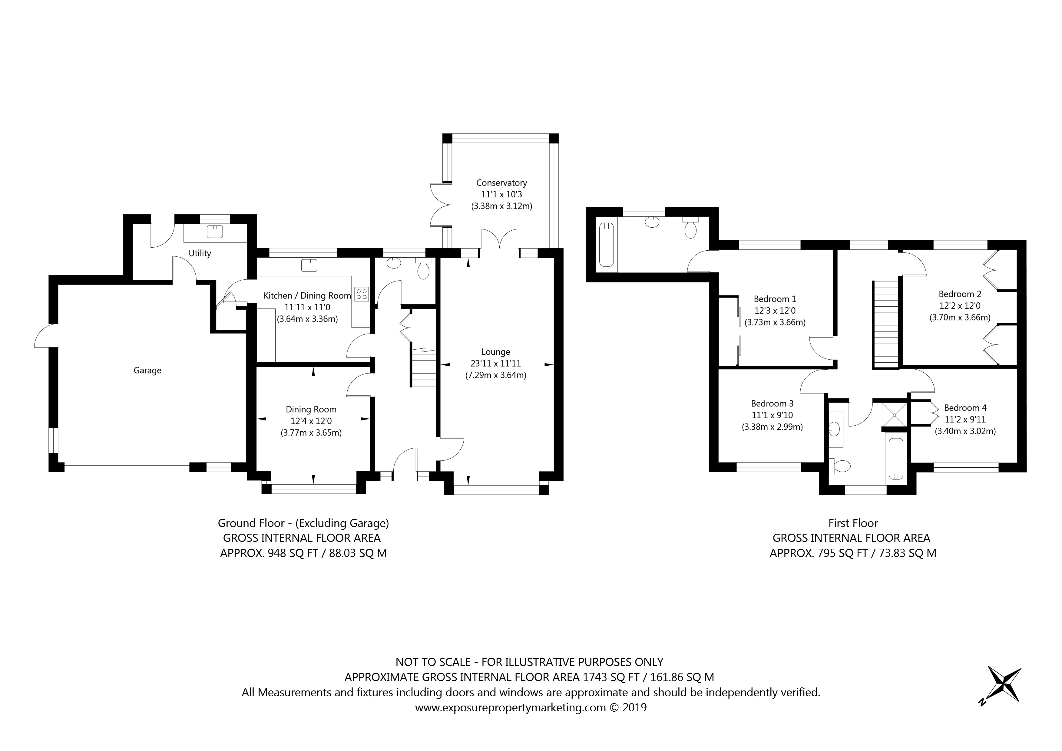 Wenlock Drive, Escrick, York property floorplan