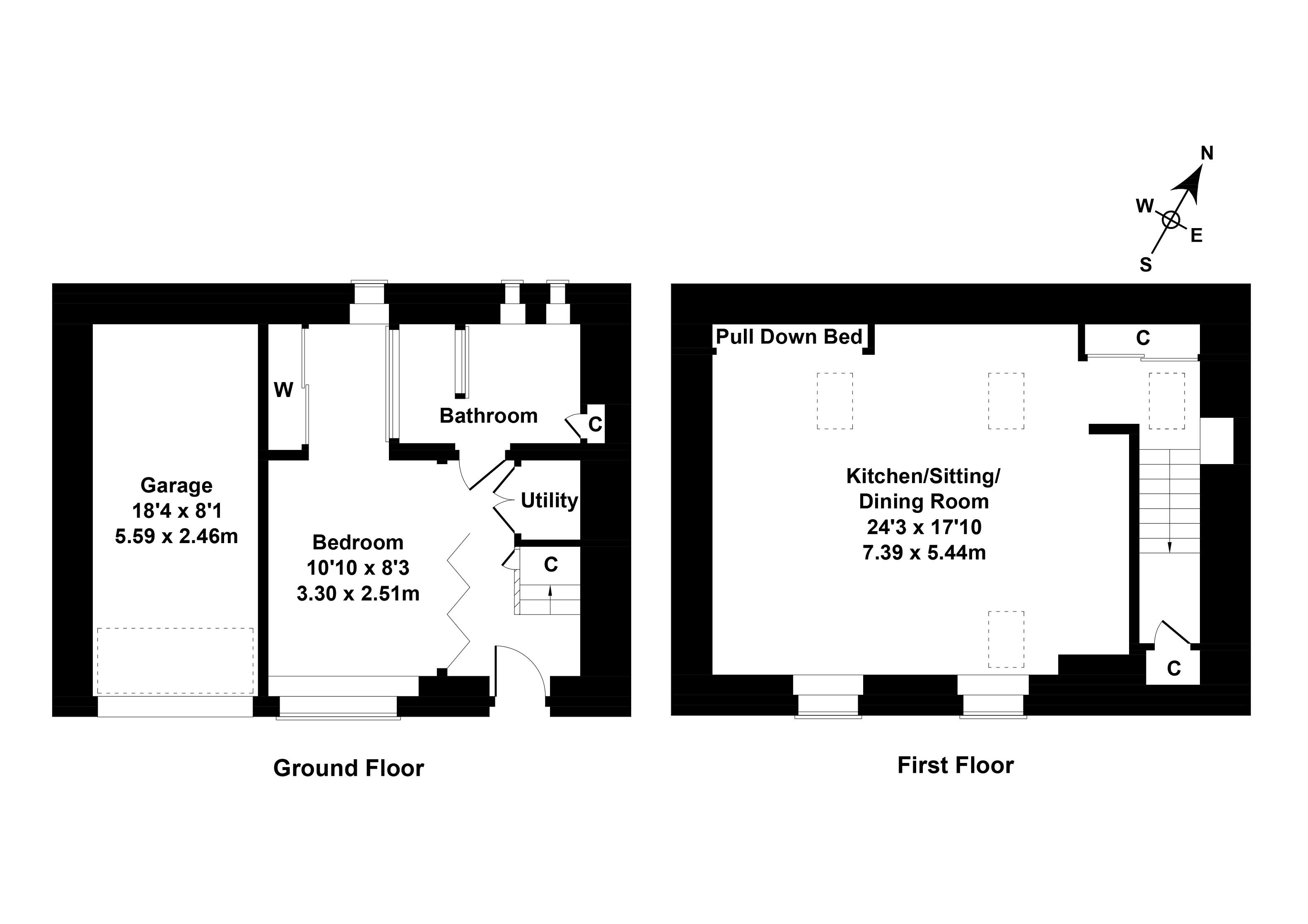 Floorplan 1 of  23 Dublin Street Lane South, Edinburgh, EH1 3PX