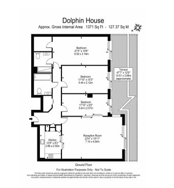 3 bedroom(s) apartment to sale in Dolphin House, Lensbury Avenue, Imperial Wharf, Fulham-Floorplan