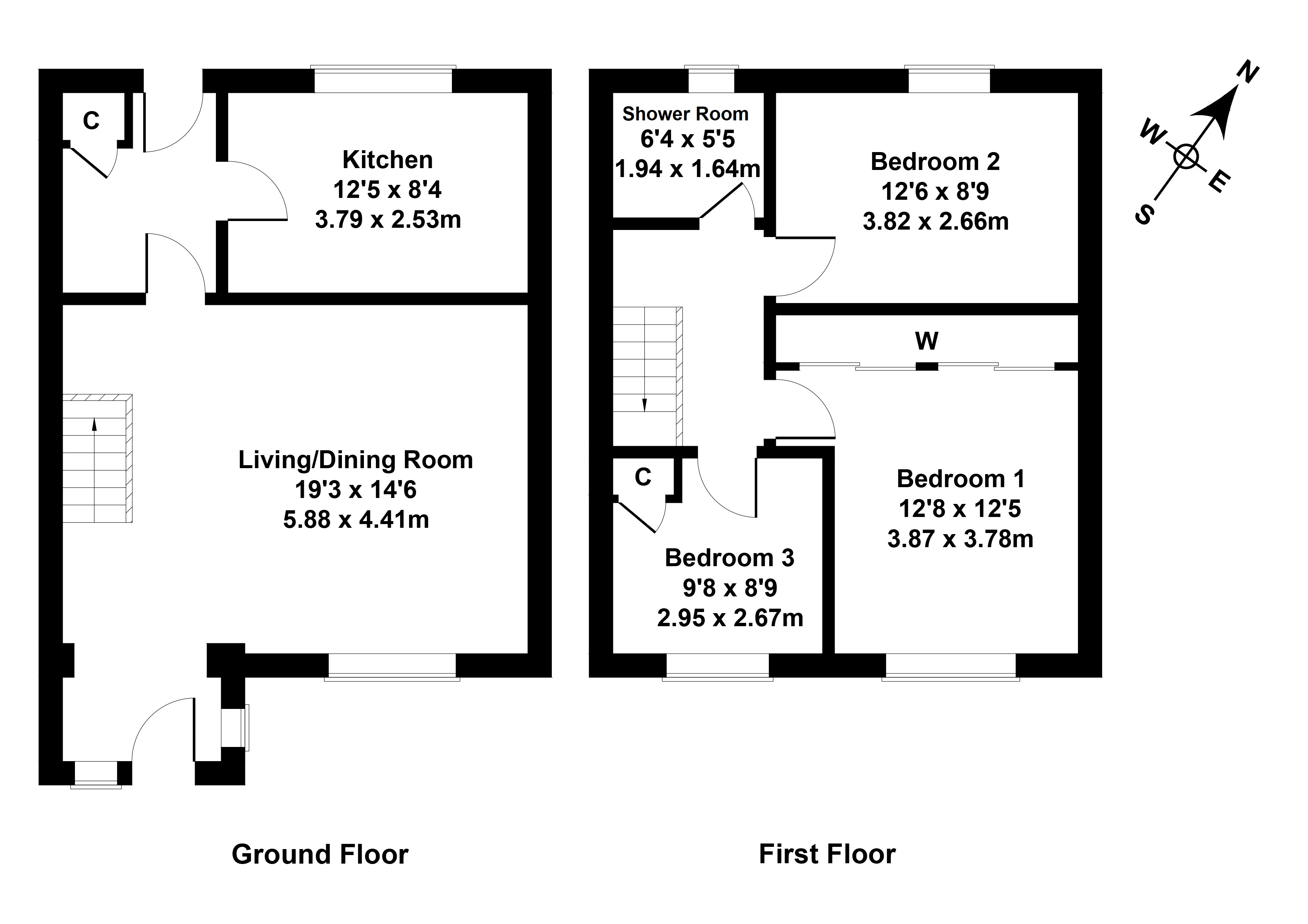 Floorplan 1 of 100 Glen Nevis, East Kilbride, Glasgow, South Lanarkshire, G74 2BL