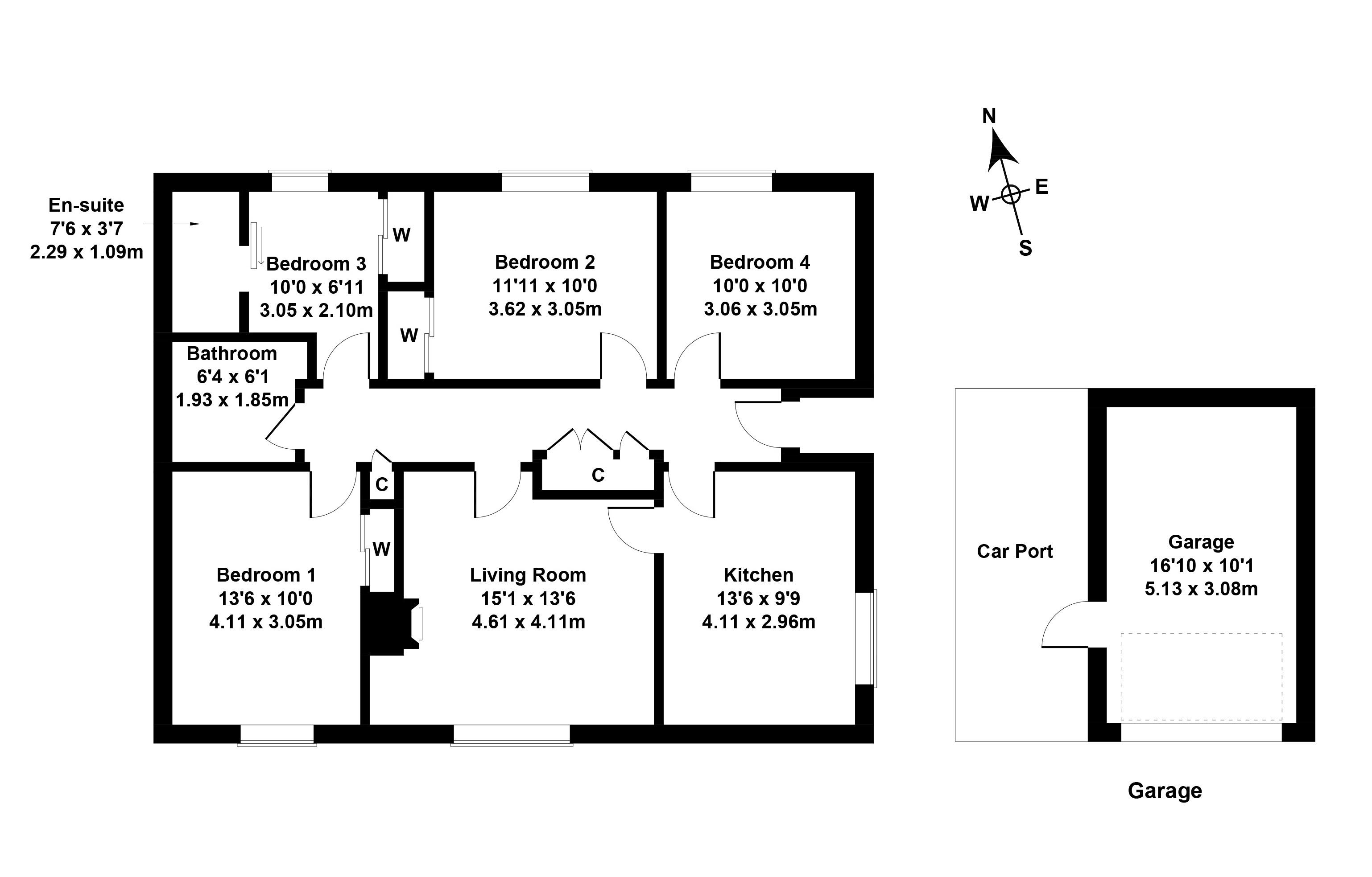 Floorplan 1 of 22 Muirpark Way, Drymen, Glasgow, Stirlingshire, G63 0DX