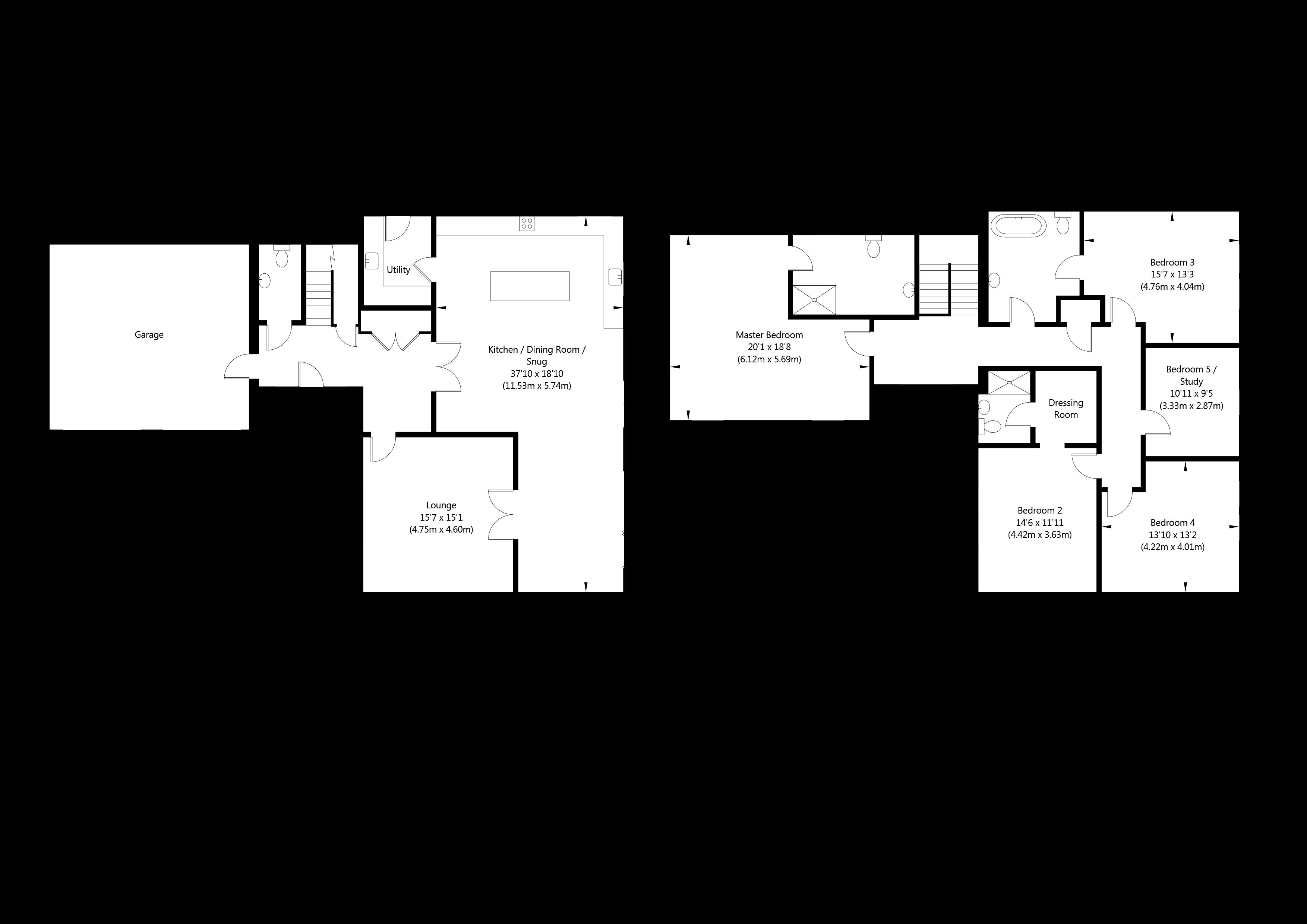 Warnham House (PLOT 17), Main Street, Melbourne , York  property floorplan